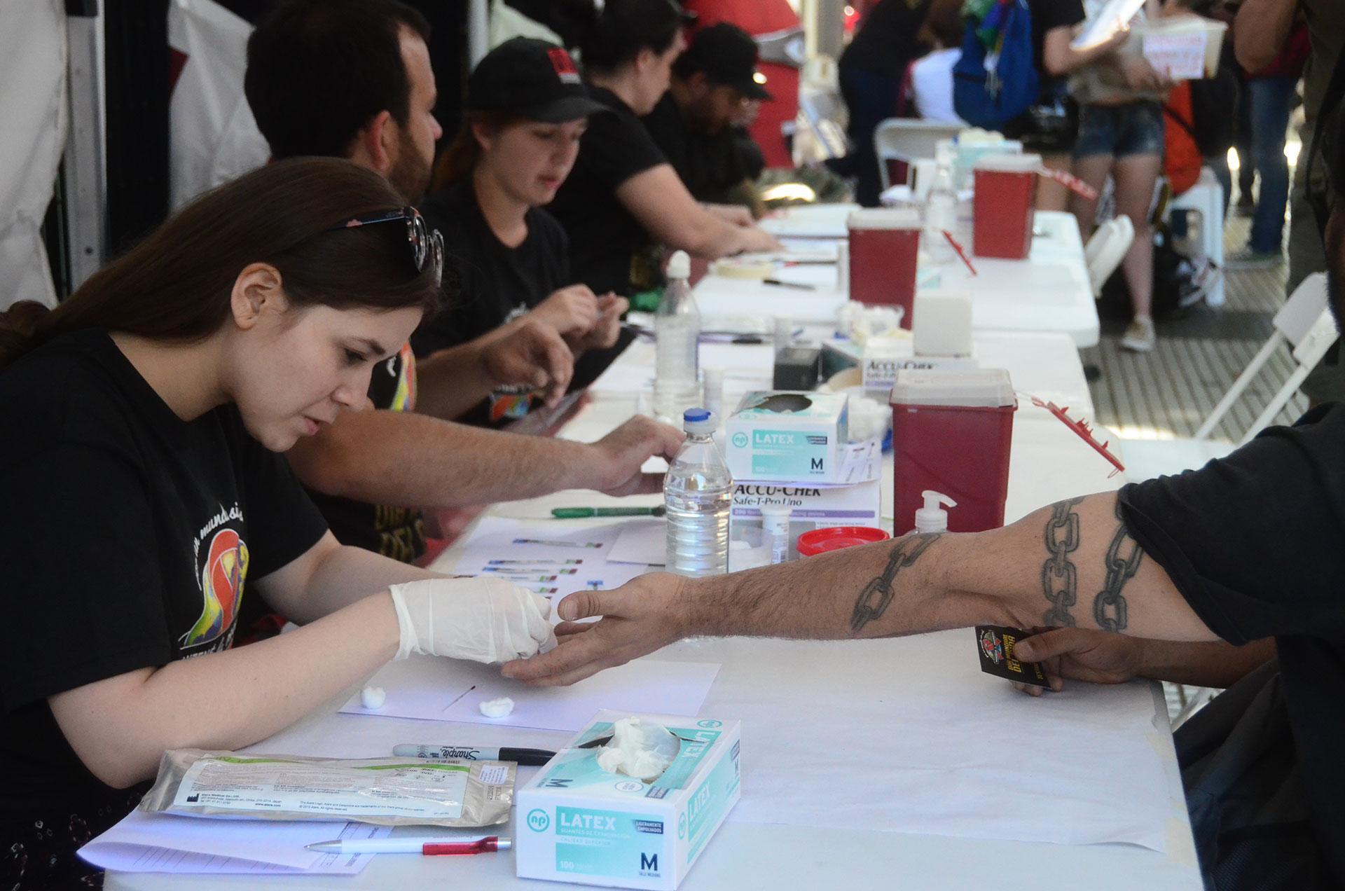 El evento tiene como fin concientizar sobre la problemática del HIV/Sida y las formas de cuidarse en la contracción de la enfermedad