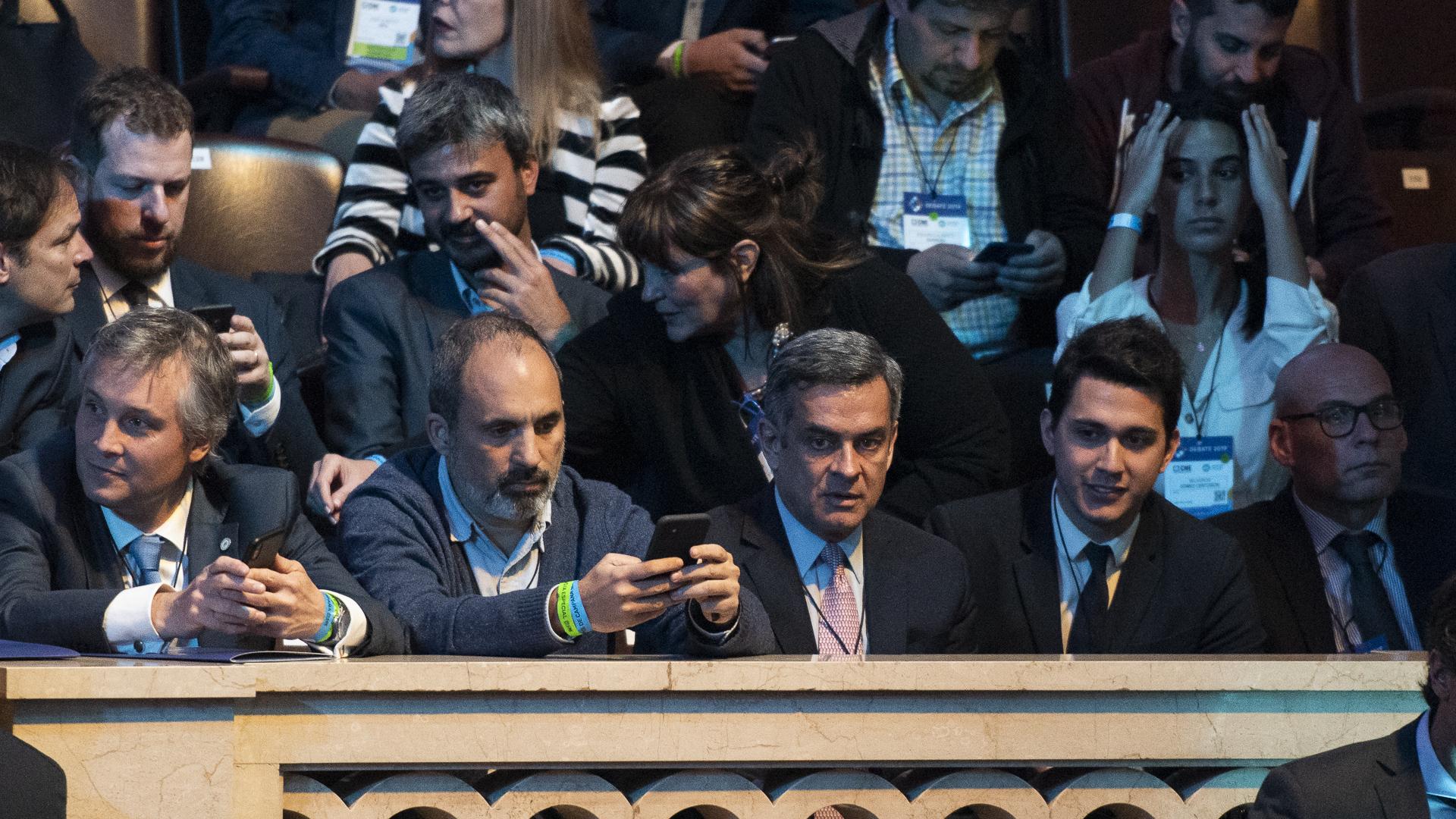 Dirigentes que acompañaron a Roberto Lavagna, Mauricio Macri y José Luis Espert