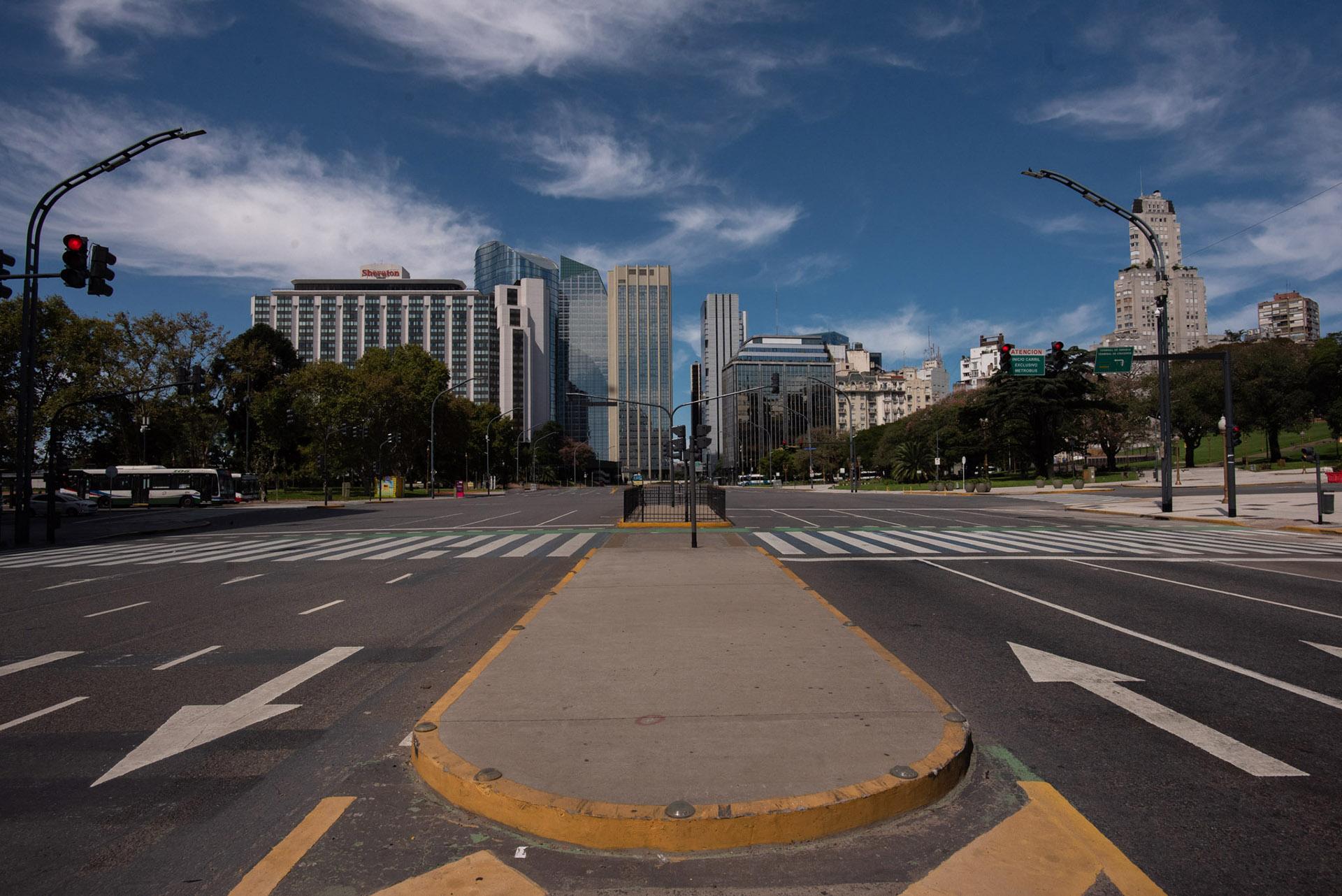 Avenida del Libertador y San Martín