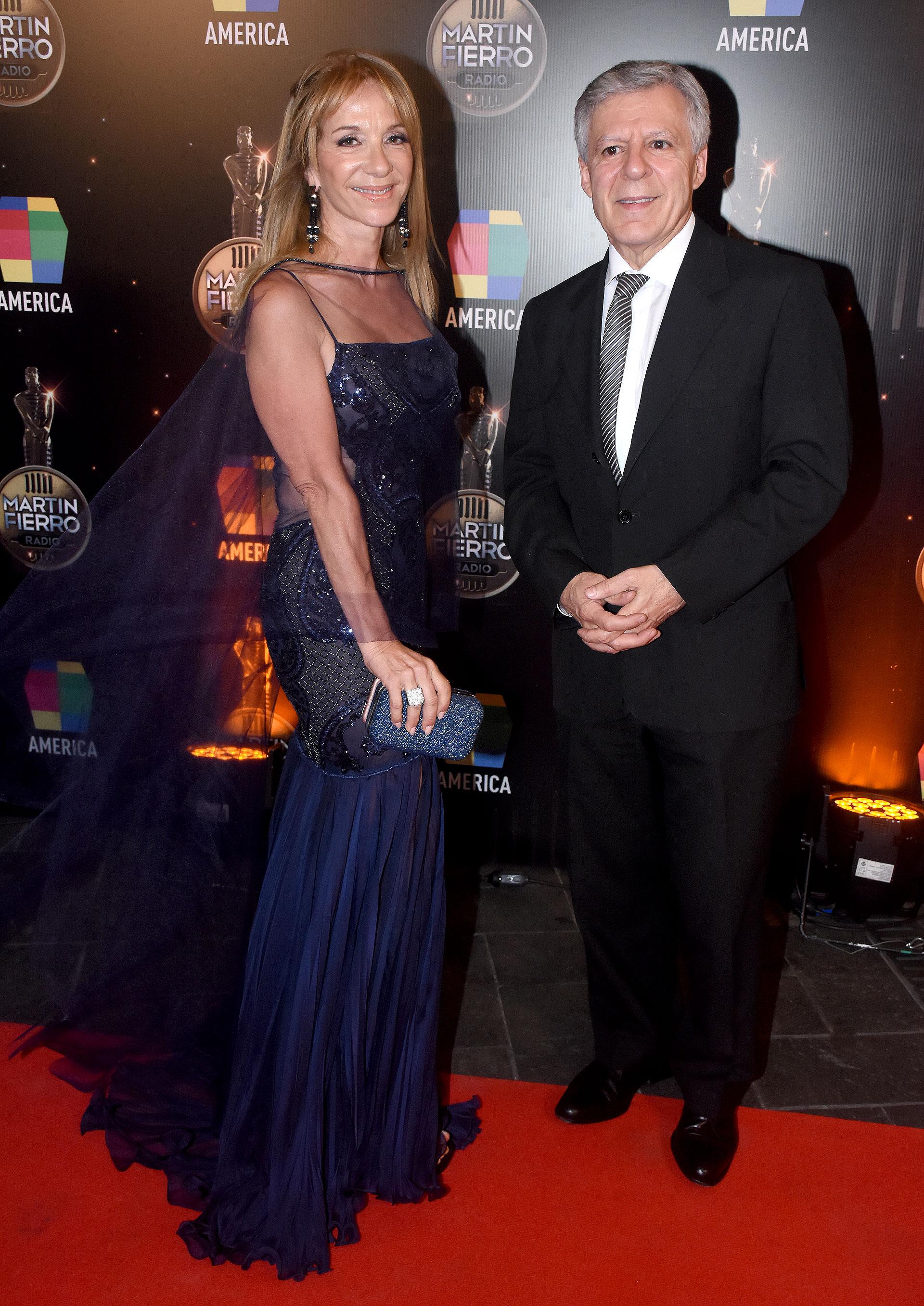 María Isabel Sánchez y Daniel López Rosetti