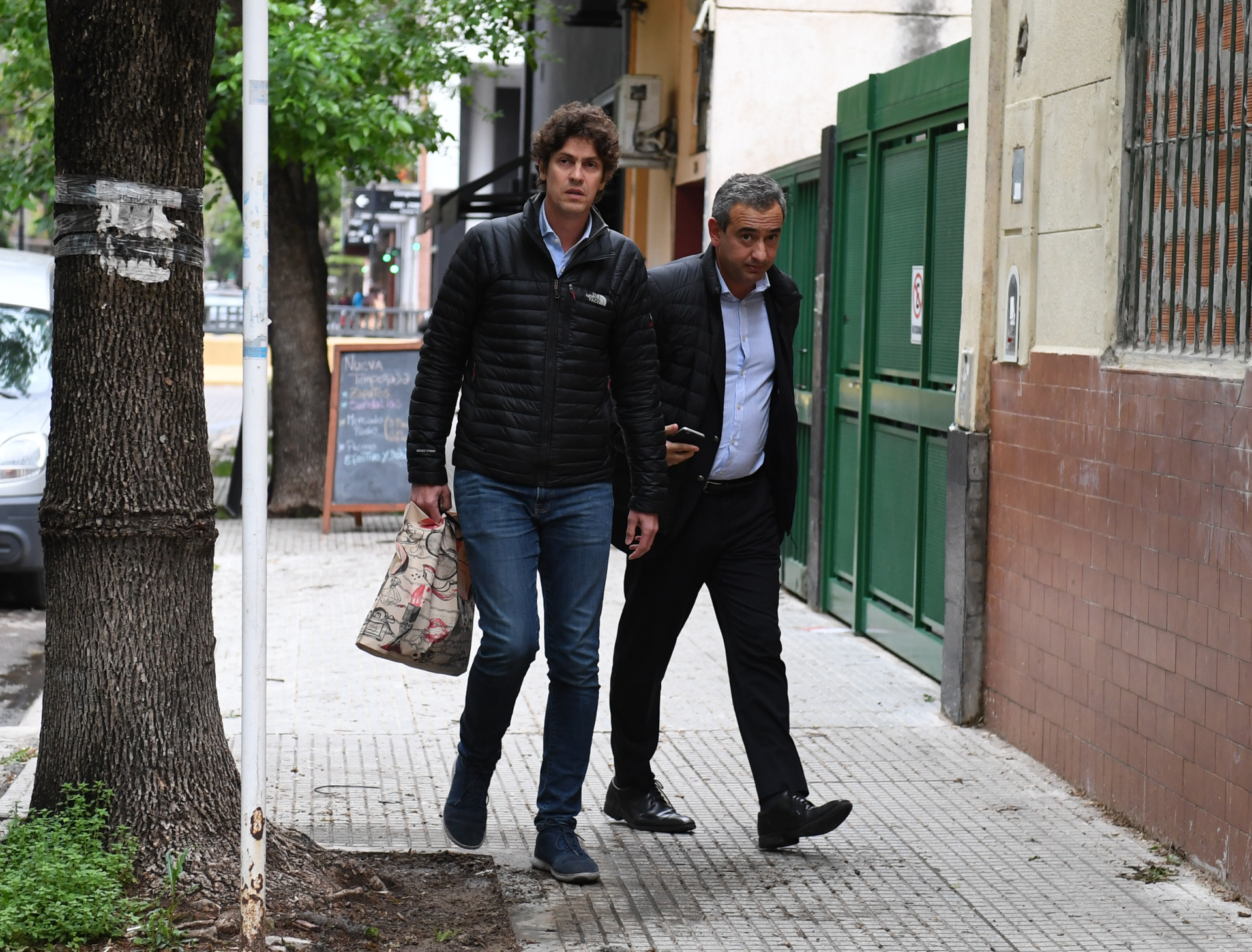 El ex embajador en los Estados Unidos, Martín Lousteau, y el intendente electo de Rosario Pablo Javkin