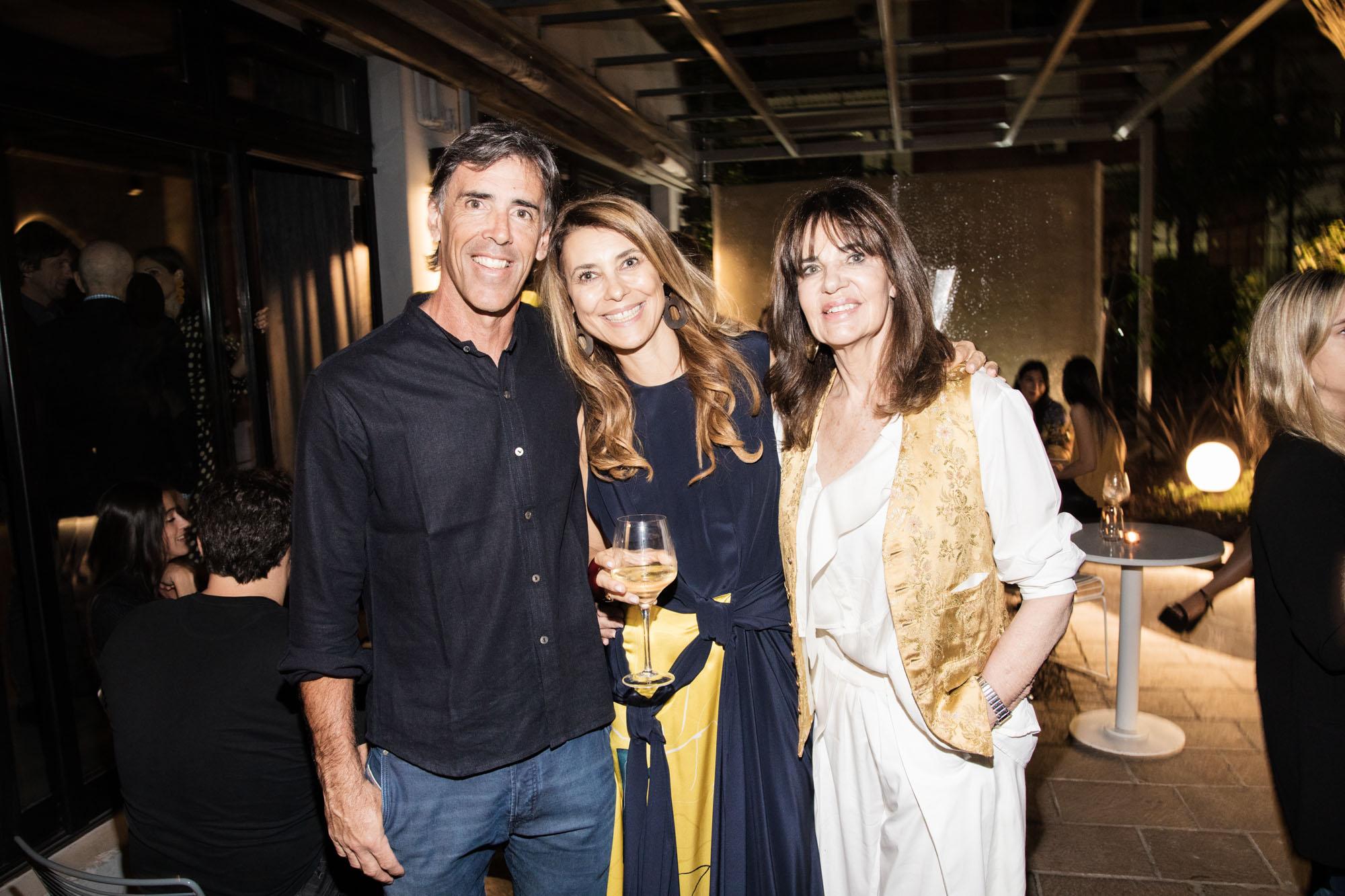 Jaime García Huidobro, Adriana Batan de Rocca e Isabel Animat