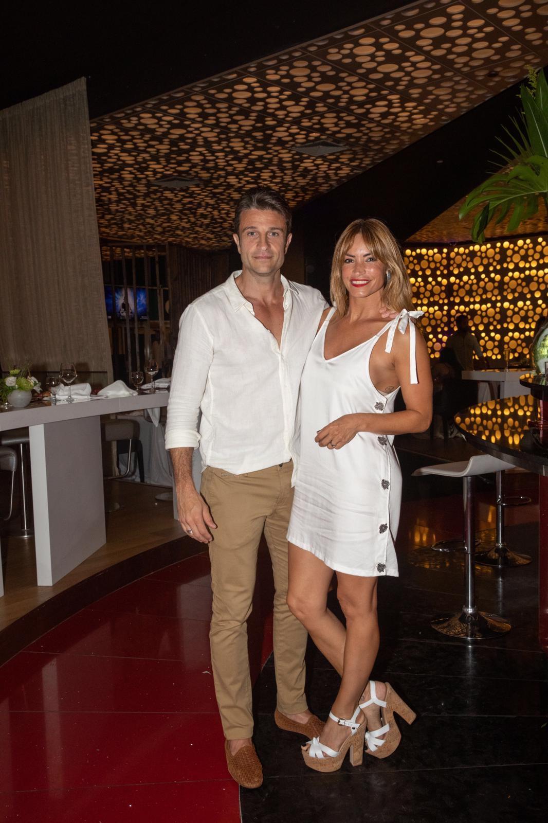 Lionel Delménico y Claudia Fernández