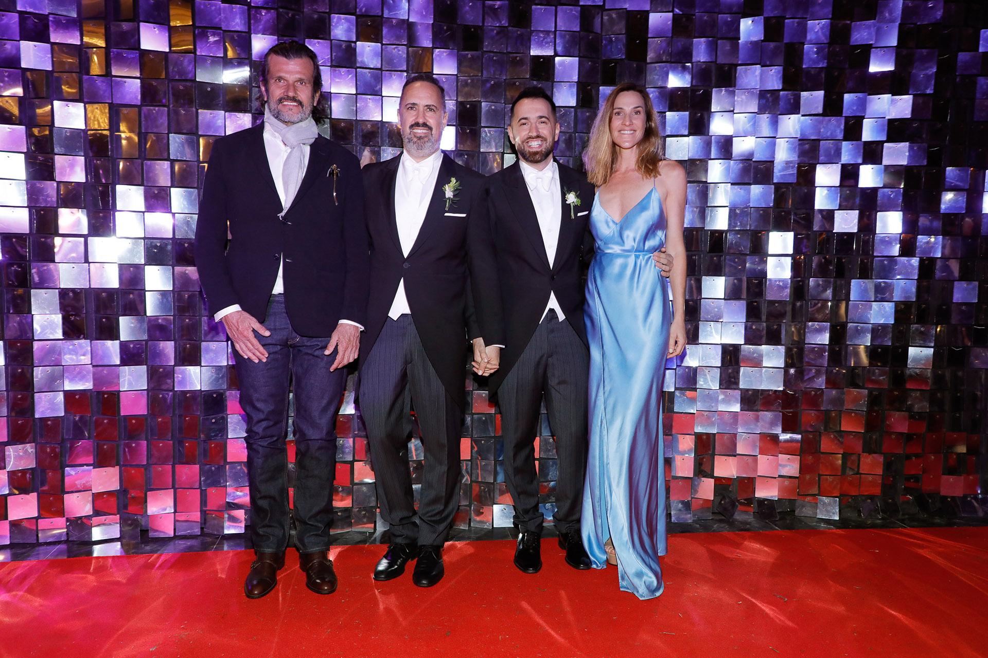 Federico Álvarez Castillo, Charly Ronco, Nicolás Pottery y Lara Bernasconi