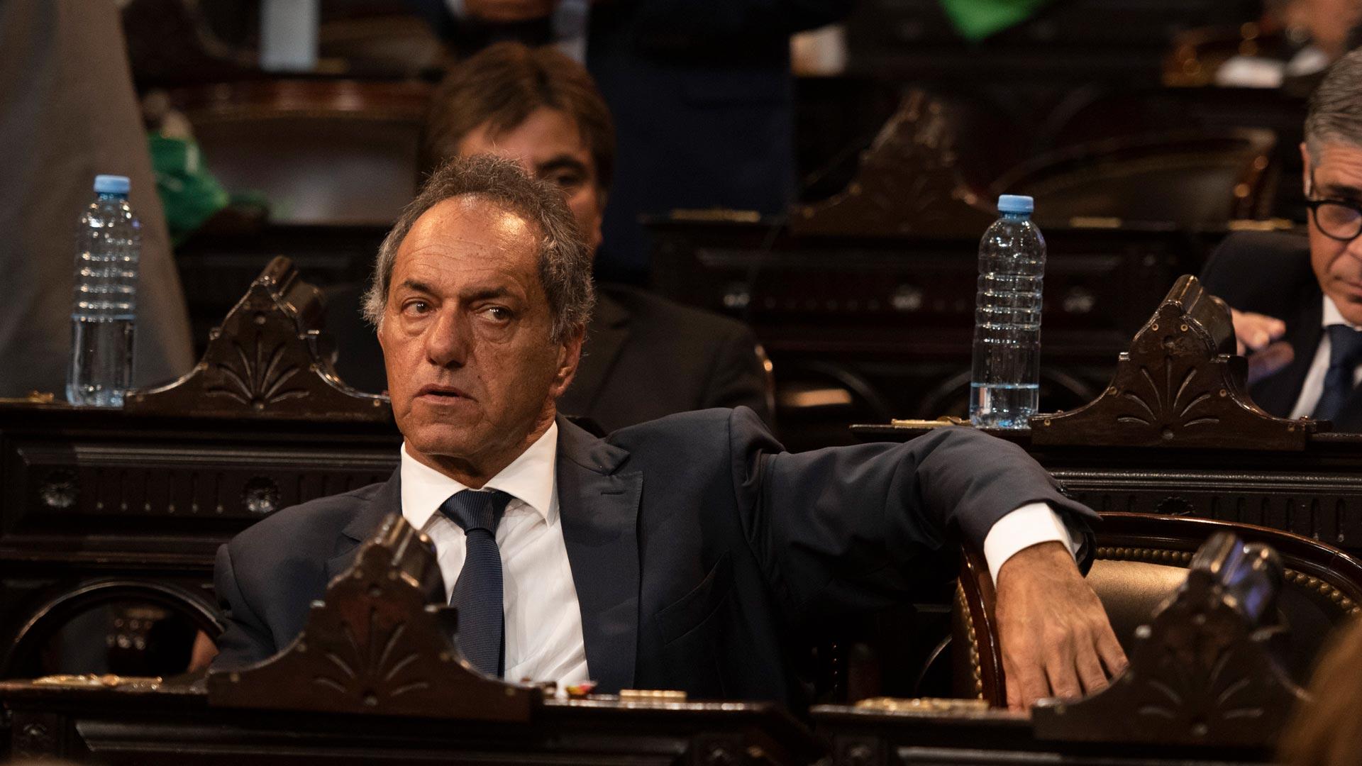 Daniel Scioli, ex candidato a presidente por las fuerzas kirchneristas