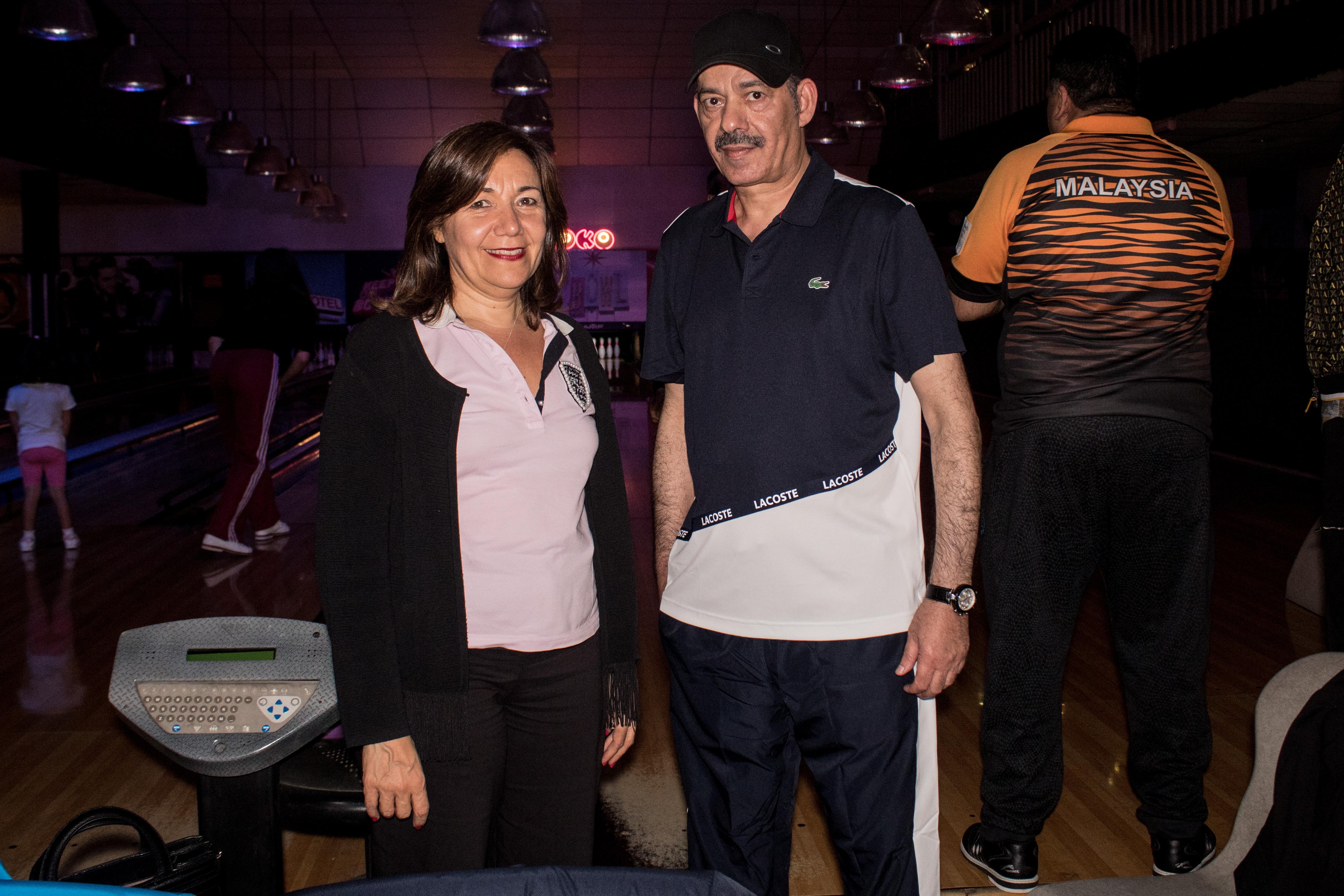 La ex embajadora de la Argentina en Qatar, Rossana Surballe, junto al embajador de Quatar, S.E. Battal M. Al Dosari