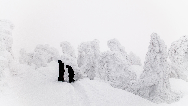 La ciudad más nevada del mundo según AccuWeather, con un promedio de 26 pies u ocho metros de nevadas cada año, es la ciudad de Aomori en la prefectura de Aomori, Japón