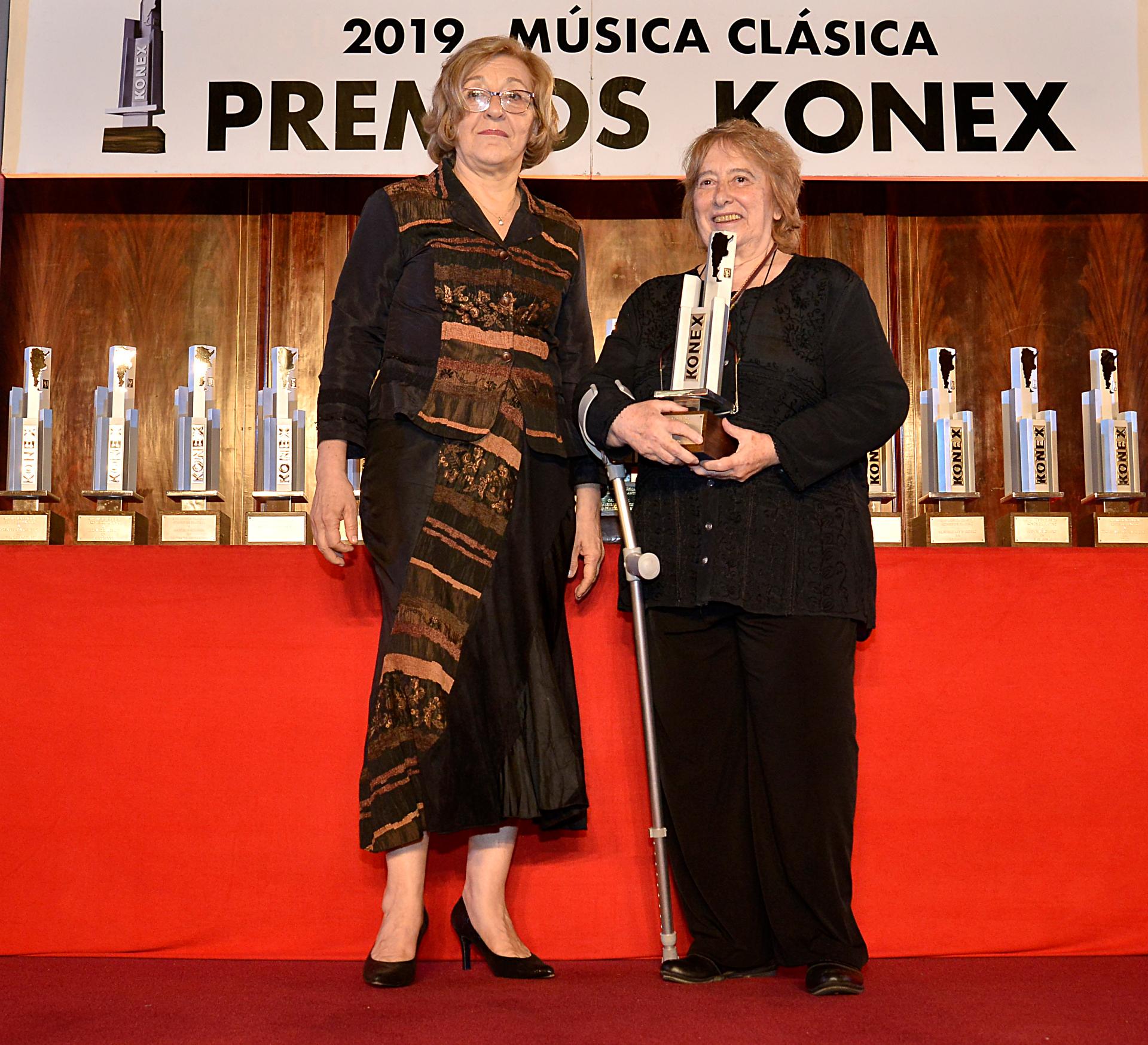 María Del Carmen Aguilar recibió el Konex de Platino
