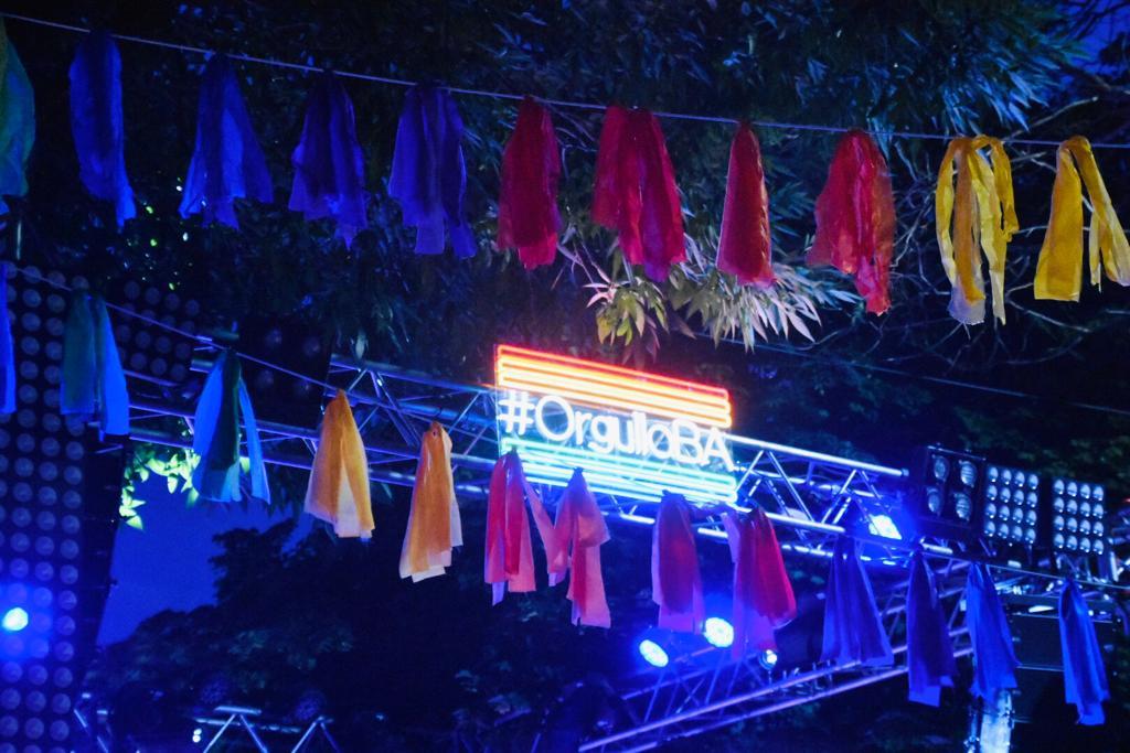 ¡Explotó el festival #OrgulloBA 🏳️🌈! Hasta las 23h los presentes celebraron la diversidad en Gurruchaga y Costa Rica