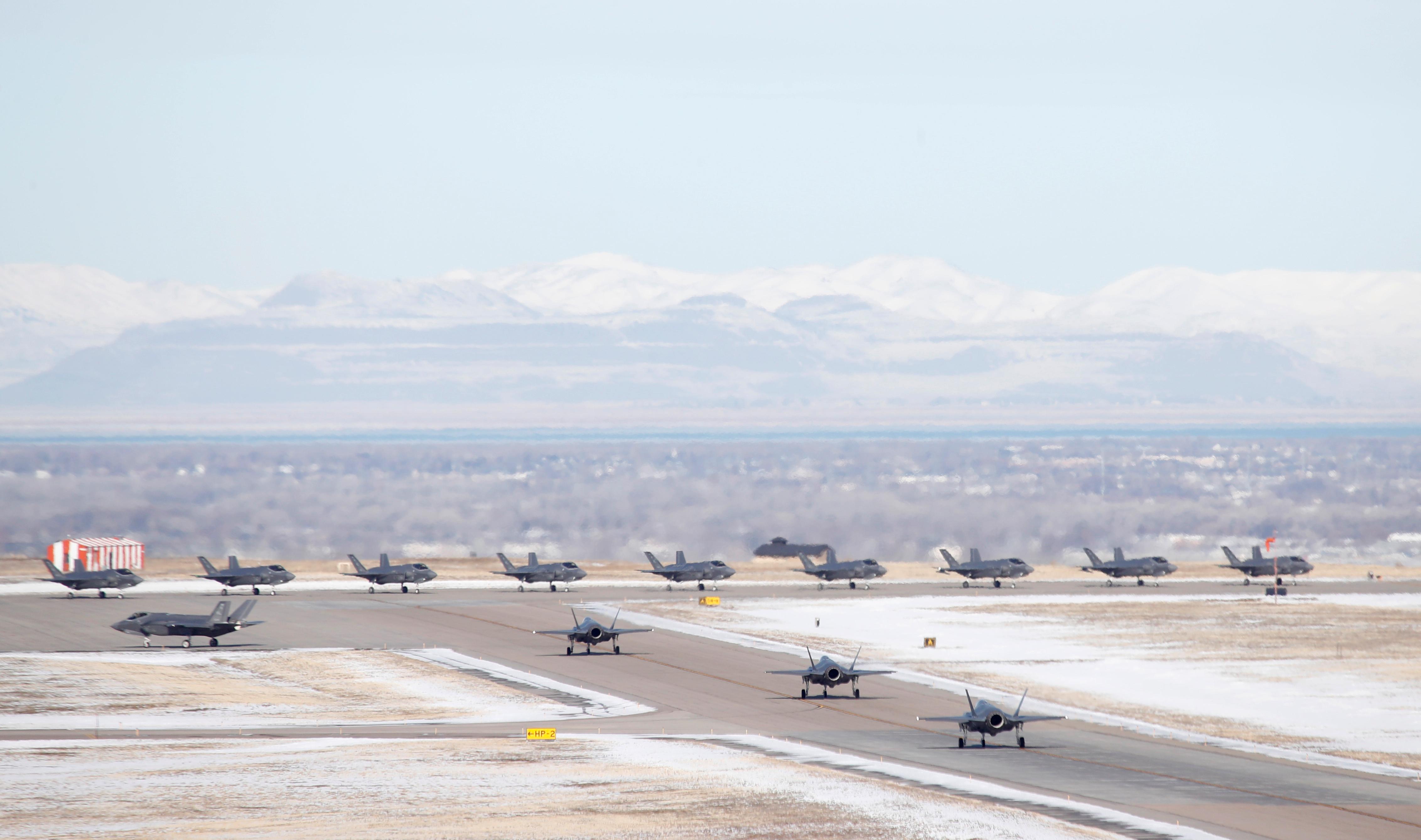 Ejercicio aéreo en Utah (Reuters)