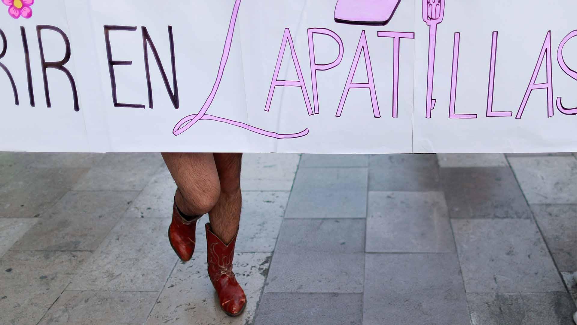 En Zapatillas (Foto: Reuters /Carlos Jasso)