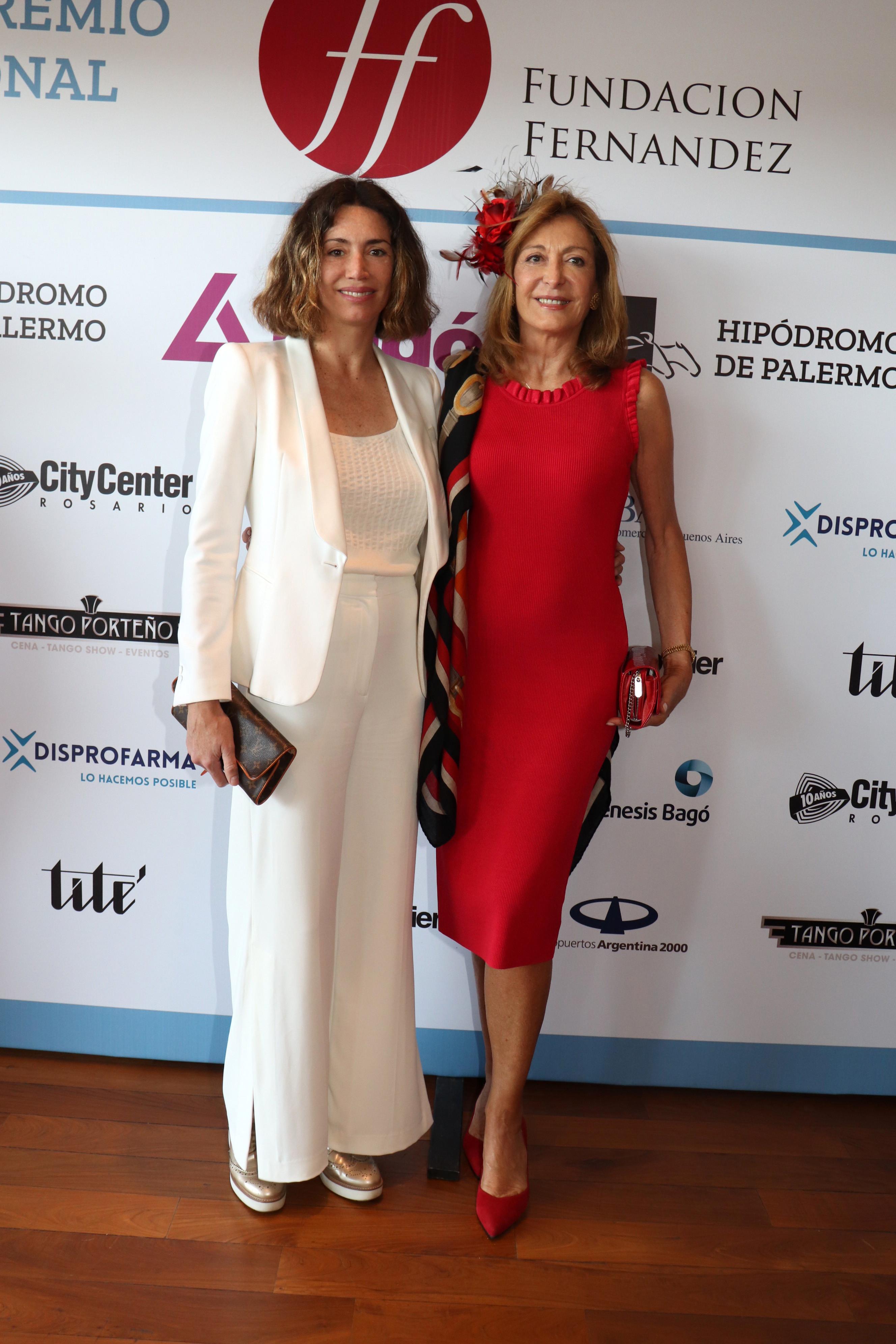 Verónica Quintana y su madre Mariel Llorens de Quintana