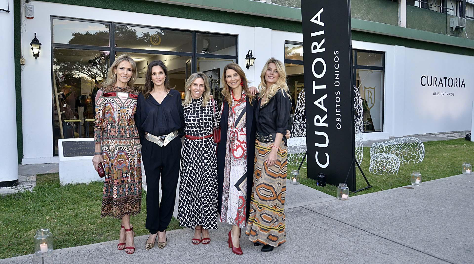 Rossella Della Giovampaola, Astrid Muñoz, Mariana Bagó, Adriana Batan de Rocca y Andrea