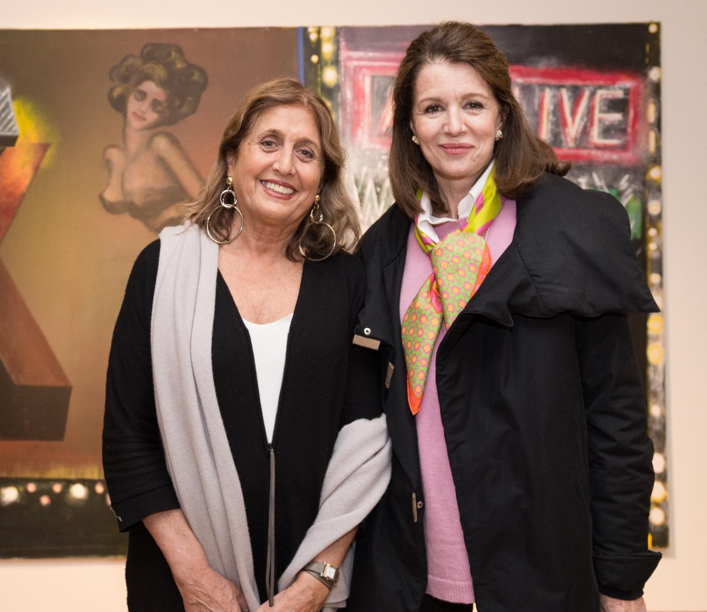 Silvia Miccio y Ada Mazo