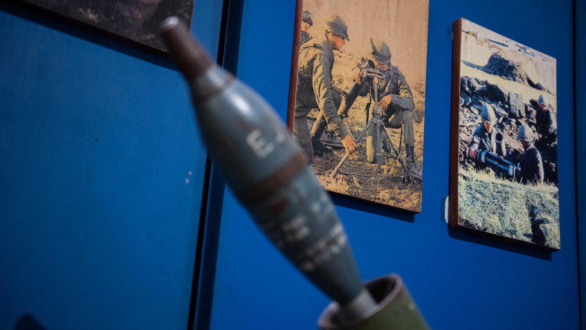 Fotos históricas que documentan el accionar del Ejército Argentino durante el conflicto bélico desarrollado entre el 2 de abril y el 14 de junio de 1982