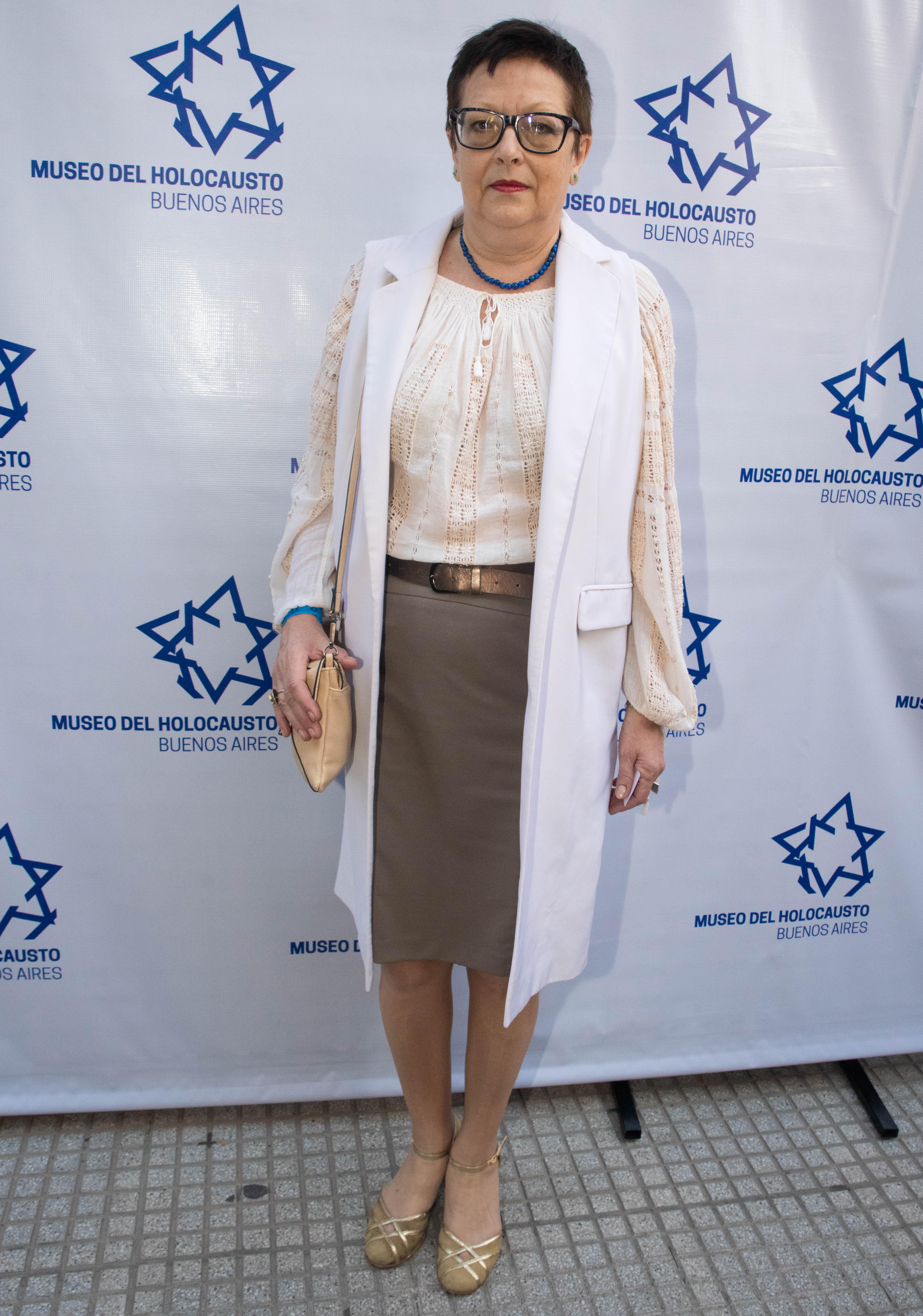 La embajador de Rumania en la Argentina, Carmen Liliana Podgorean
