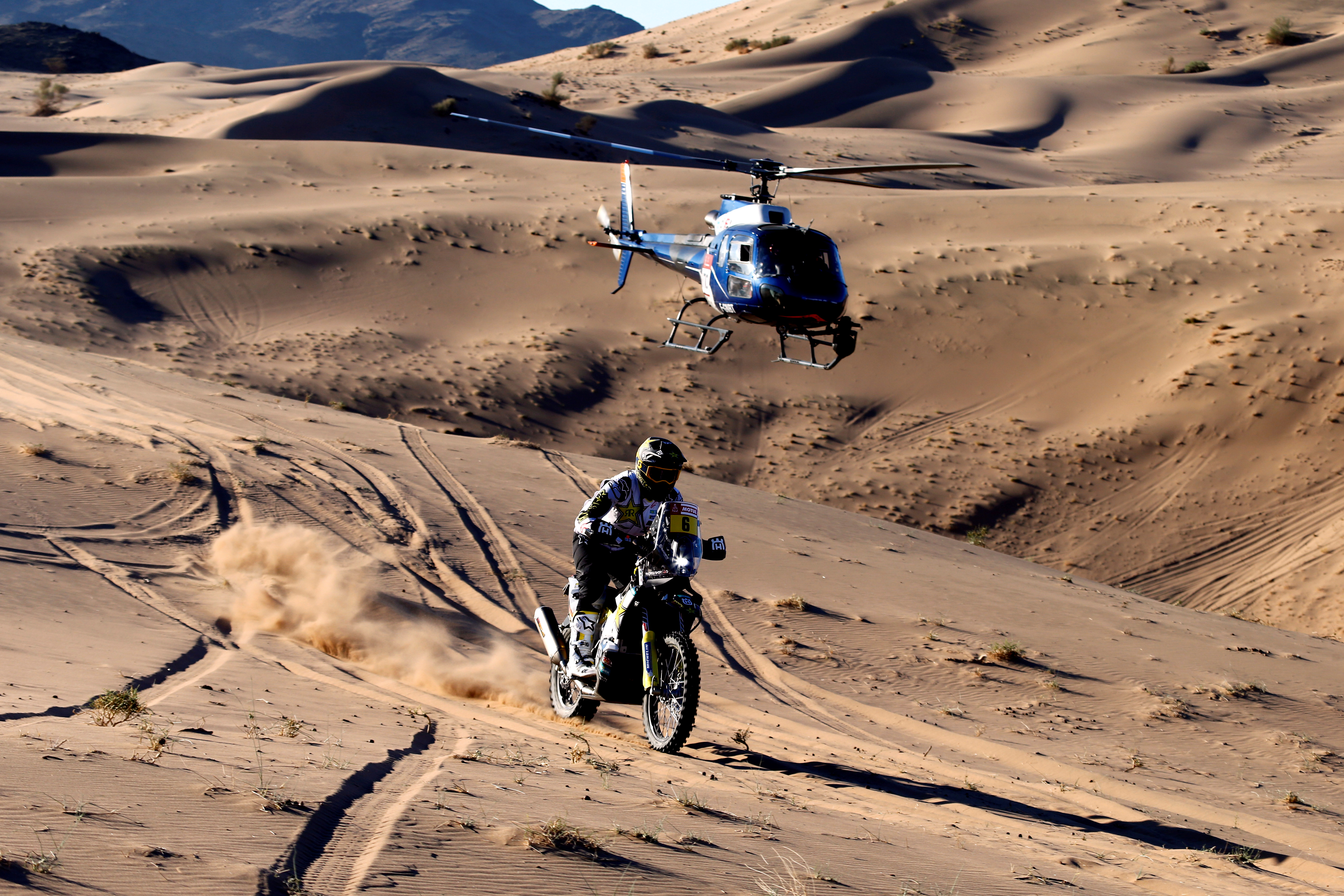 Este lunes comenzó la edición 2020 del Rally Dakar (Reuters)