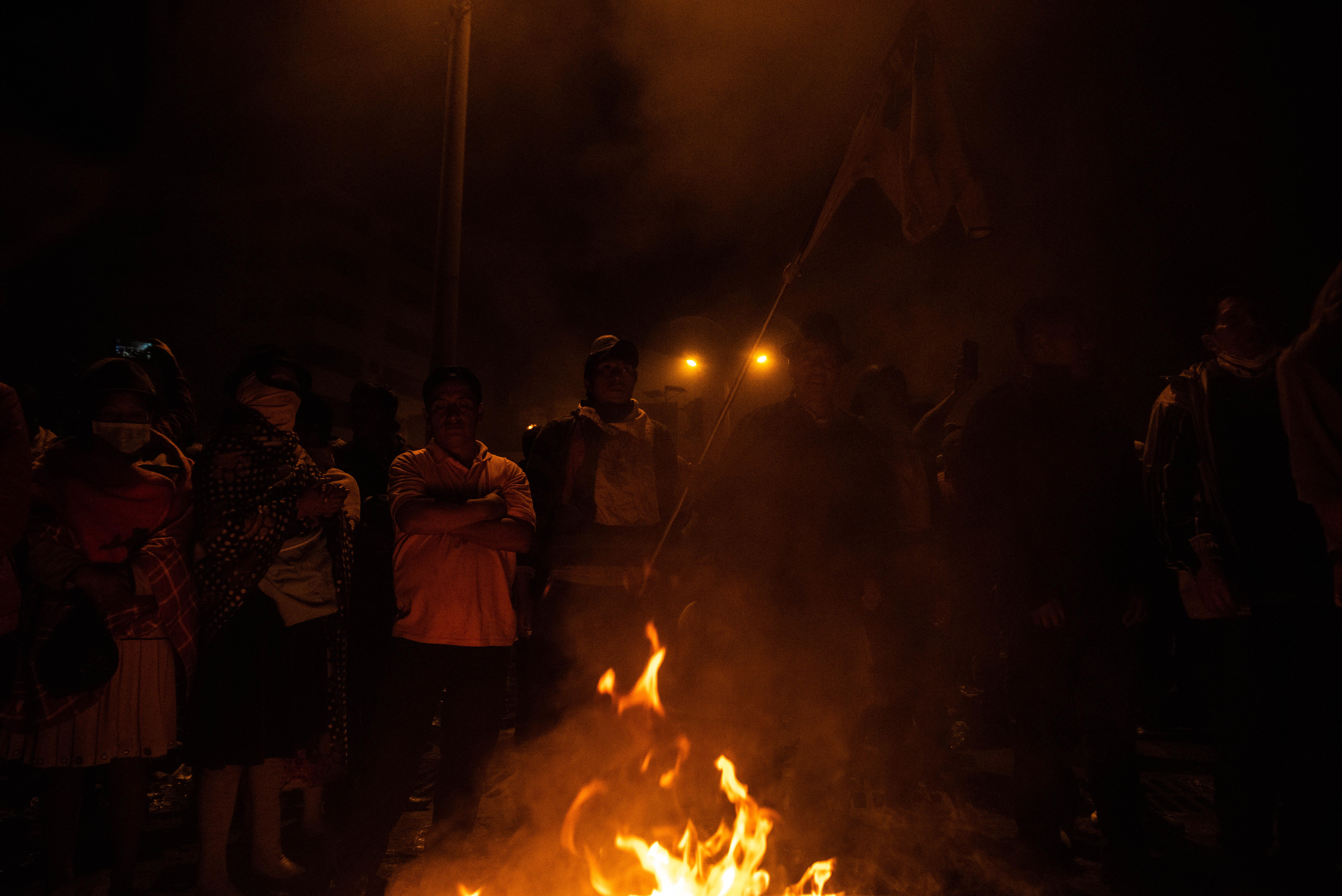 Dentro de los festejos, muchos también salieron a recordar los siete muertos, 1.340 heridos y 1.152 detenidos que dejaron las protestas.