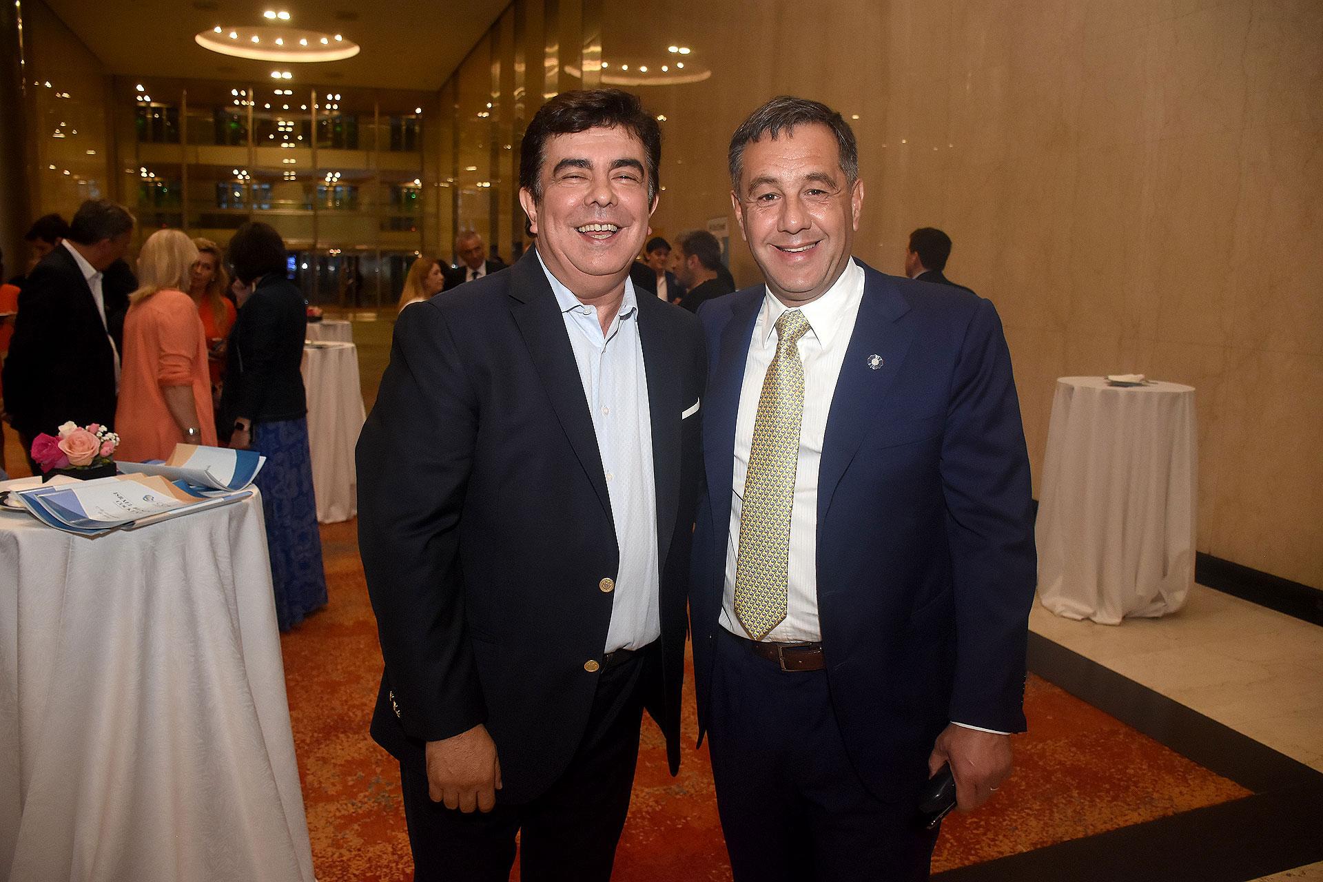 Fernando Espinoza y Alejandro Finocchiaro