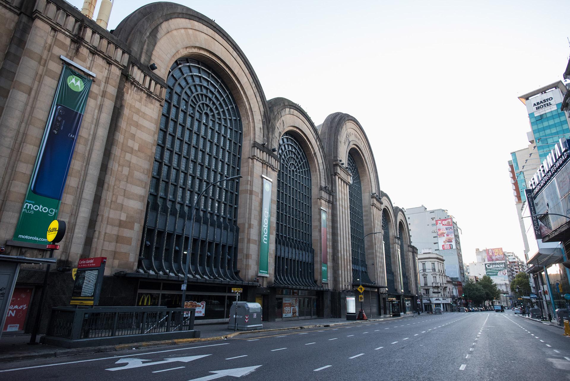 El shopping Abasto, sobre la Avenida Corrientes