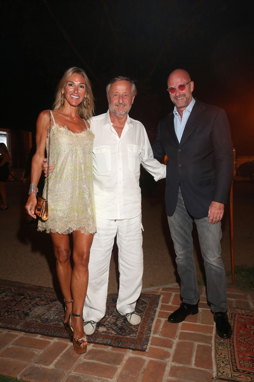 Gabriela Castellani, Cristiano Rattazzi y Giuseppe Cipriani