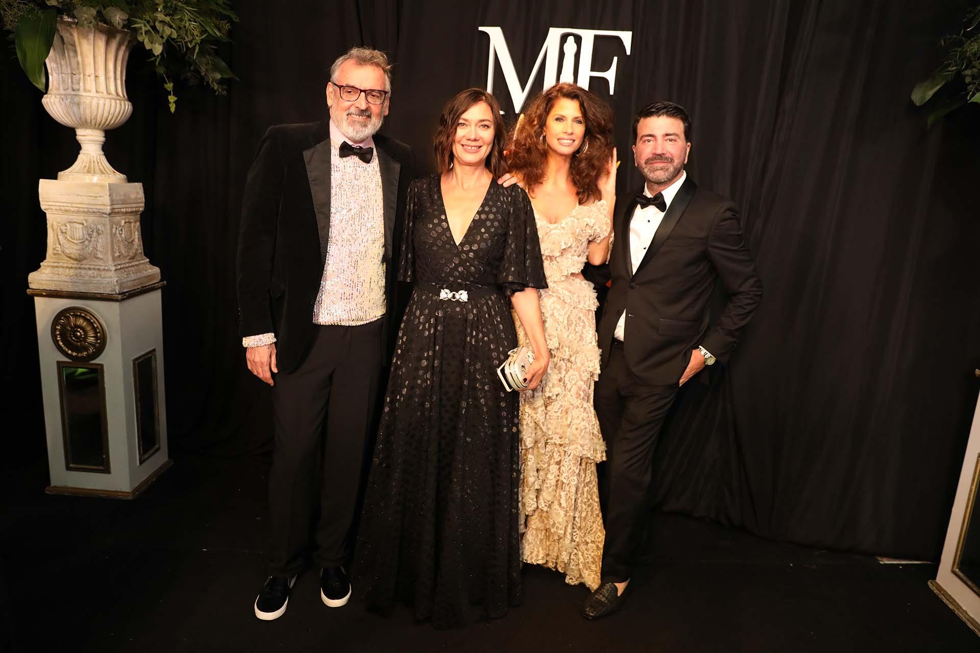 Grupo super top: Benito Fernández, Natalia Antolín, Analía Maiorana y Javier Saiach