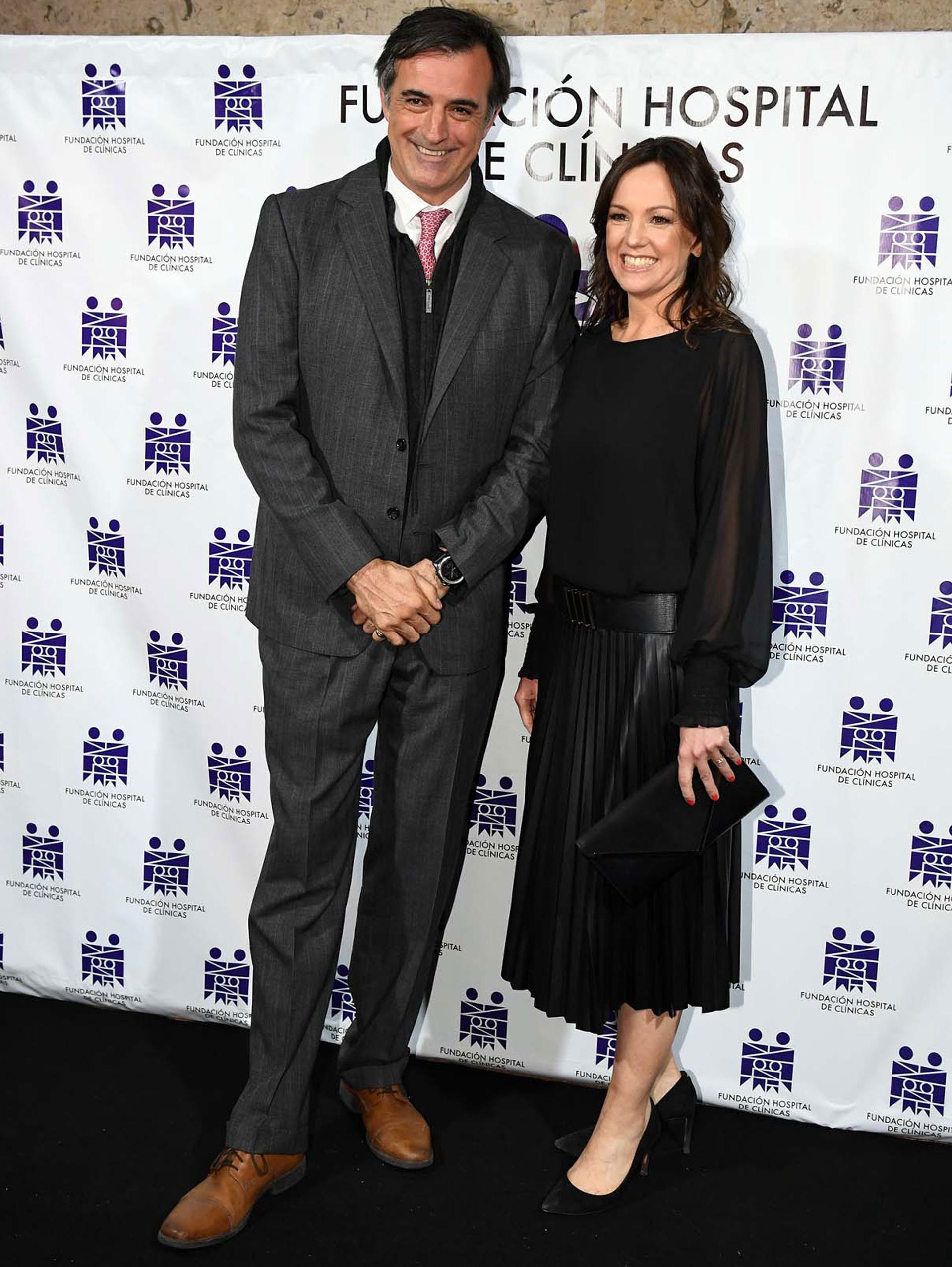 Esteban Bullrich y Carolina Stanley