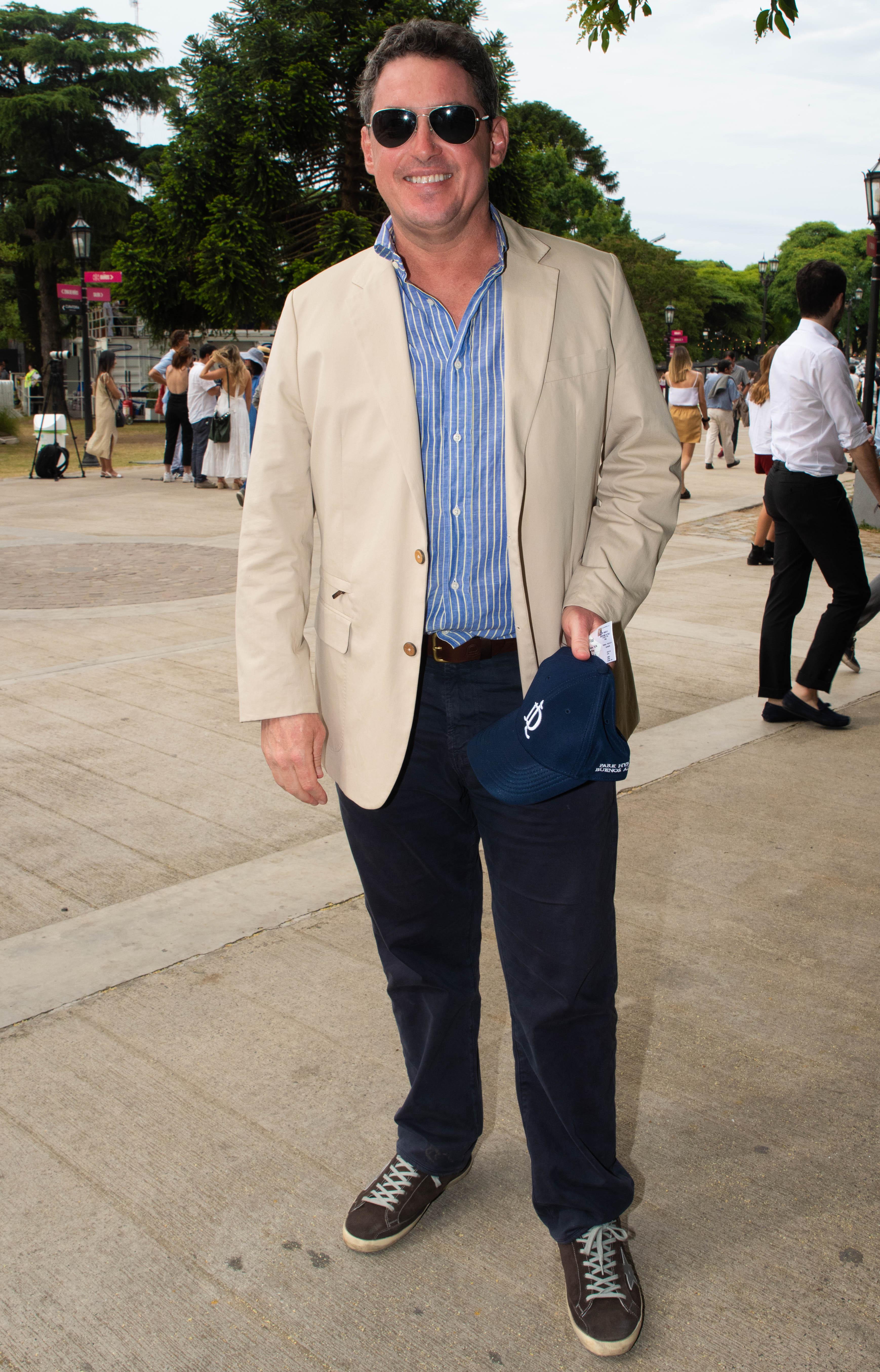 El ex embajador de los Estados Unidos en la Argentina, Noah Mamet
