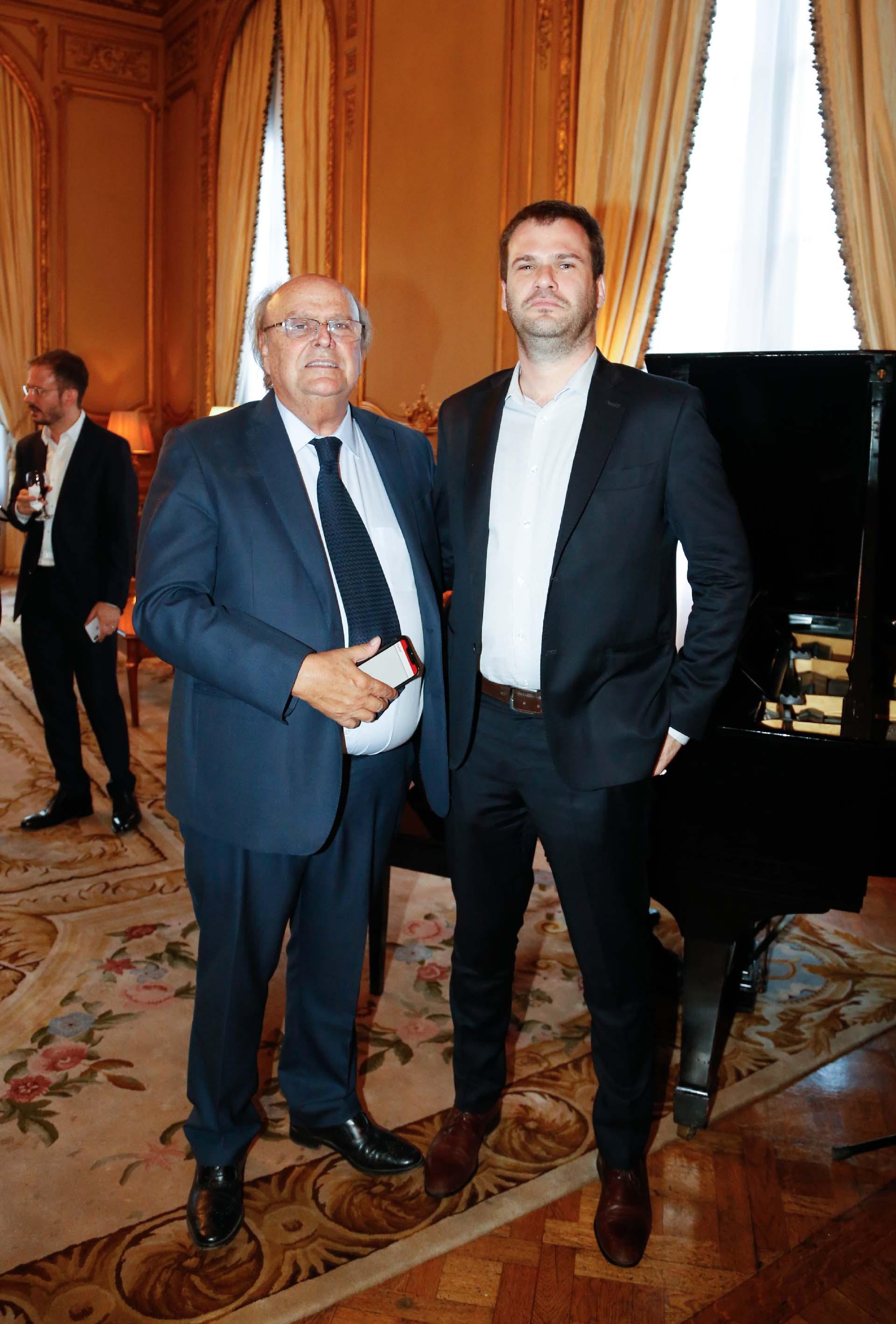 Los diputados José Ignacio De Mendiguren y Juan Manuel López