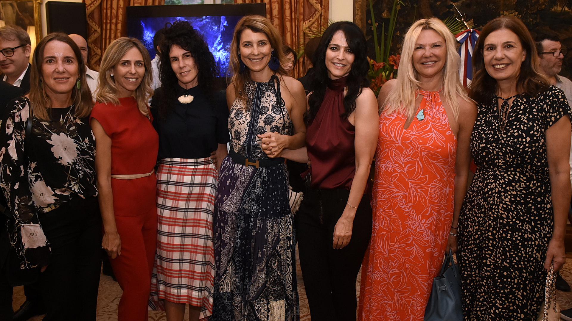 Verónica Zoani de Nutting, Mariana Bagó, Cynthia Cohen, Adriana Batan de Rocca, Cindy Teperman, Karin Sulichin y Zoraida Awada