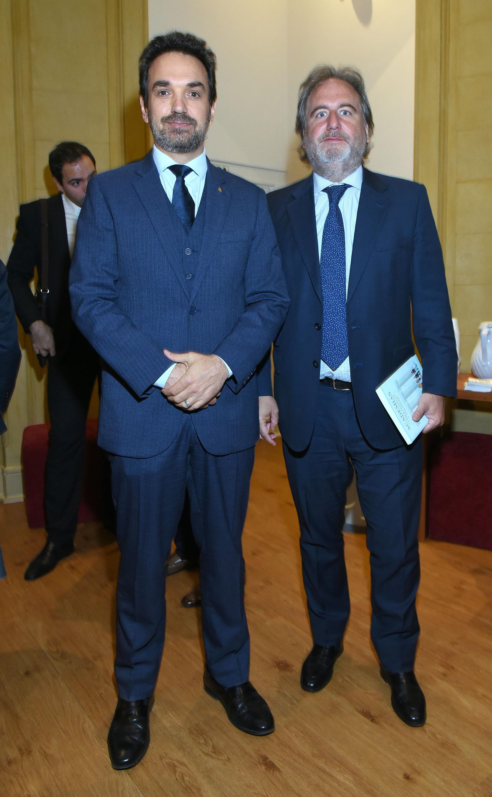 Sebastián Bago (h) y Tato Lanusse