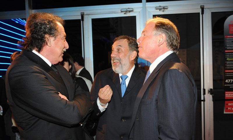 Durante una recepción realizada por Infobae, junto a Gerardo Werthein y Adrián Cochen