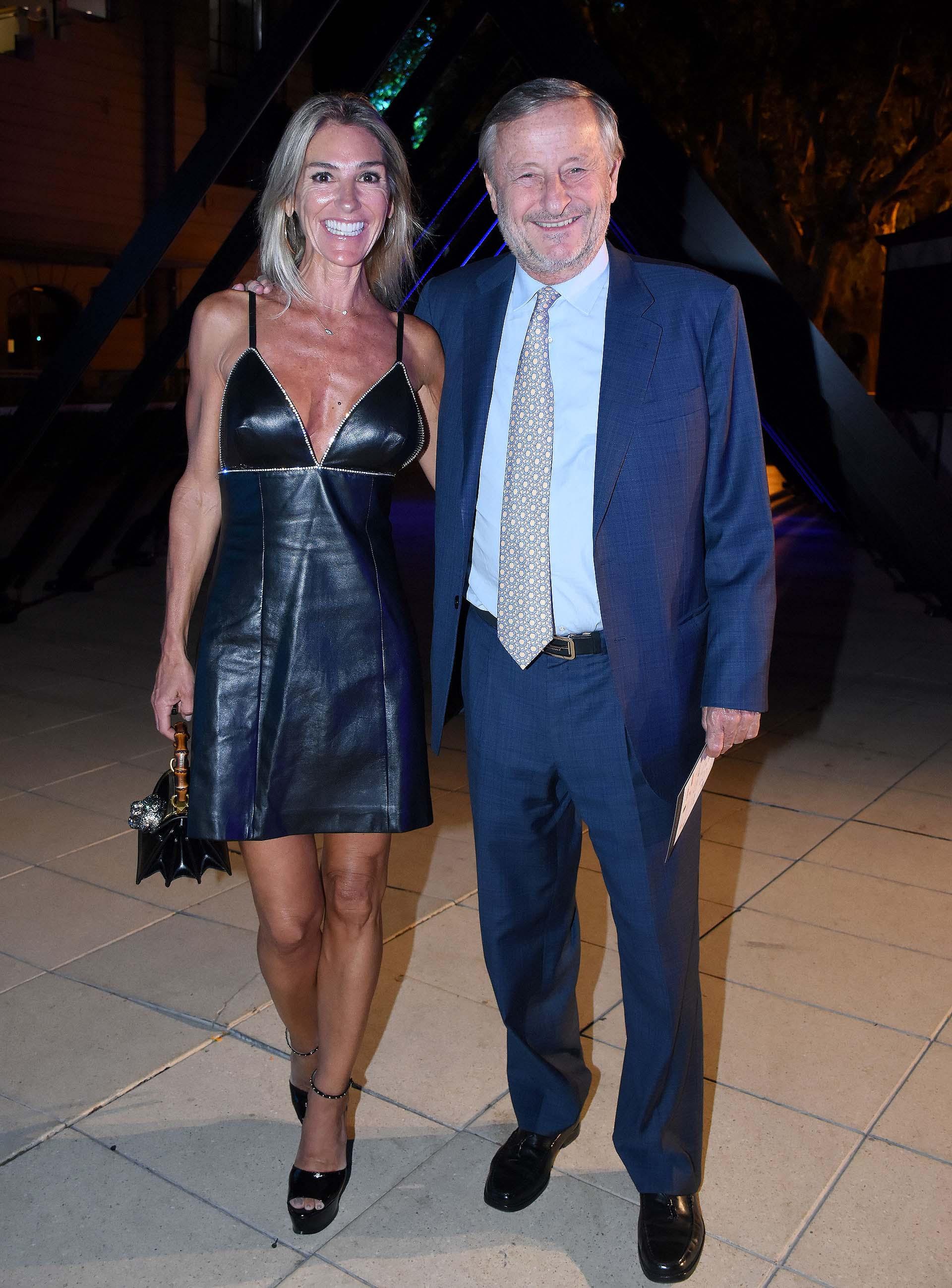 Gabriela Castellani y el empresario Cristiano Rattazzi