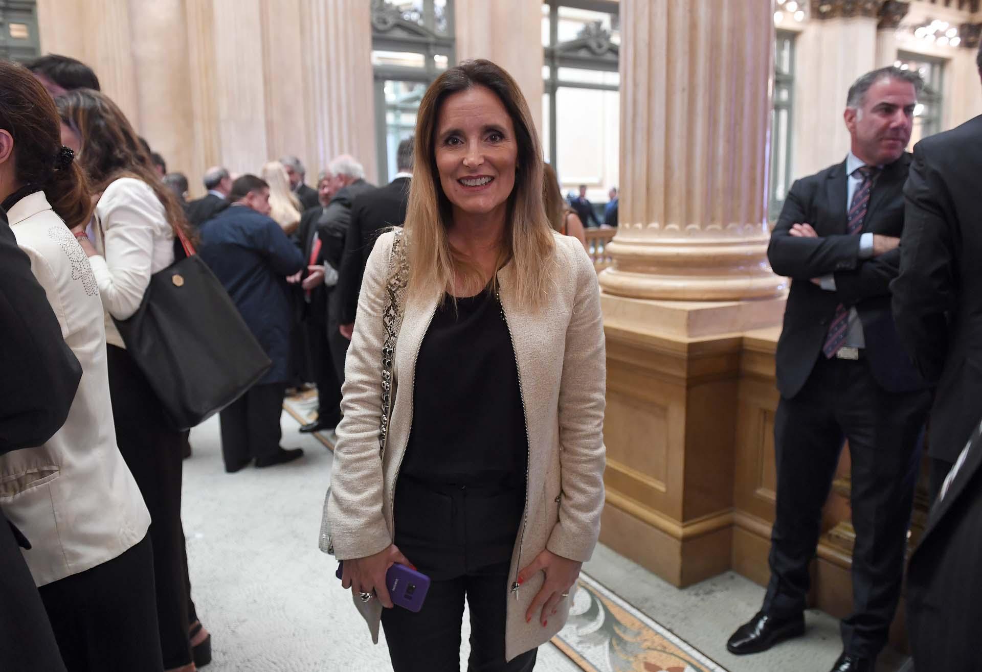 Genoveva Cardinali, titular de la Fiscalía en lo Penal y Contravencional de la Ciudad, especializada en Violencia de Género.