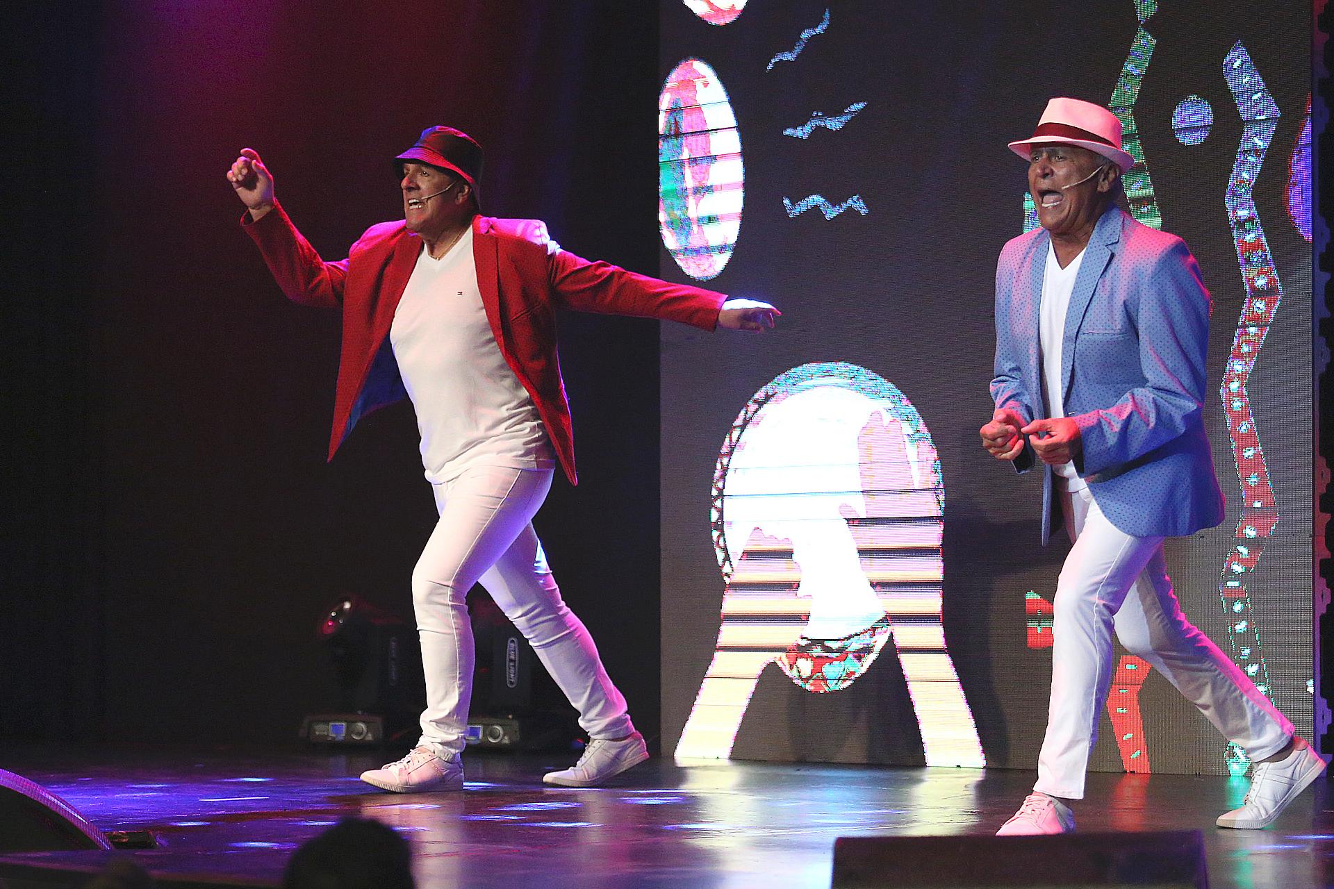 Miguel Del Sel y Dady Brieva vuelven a hacer reír al público, en un show familiar