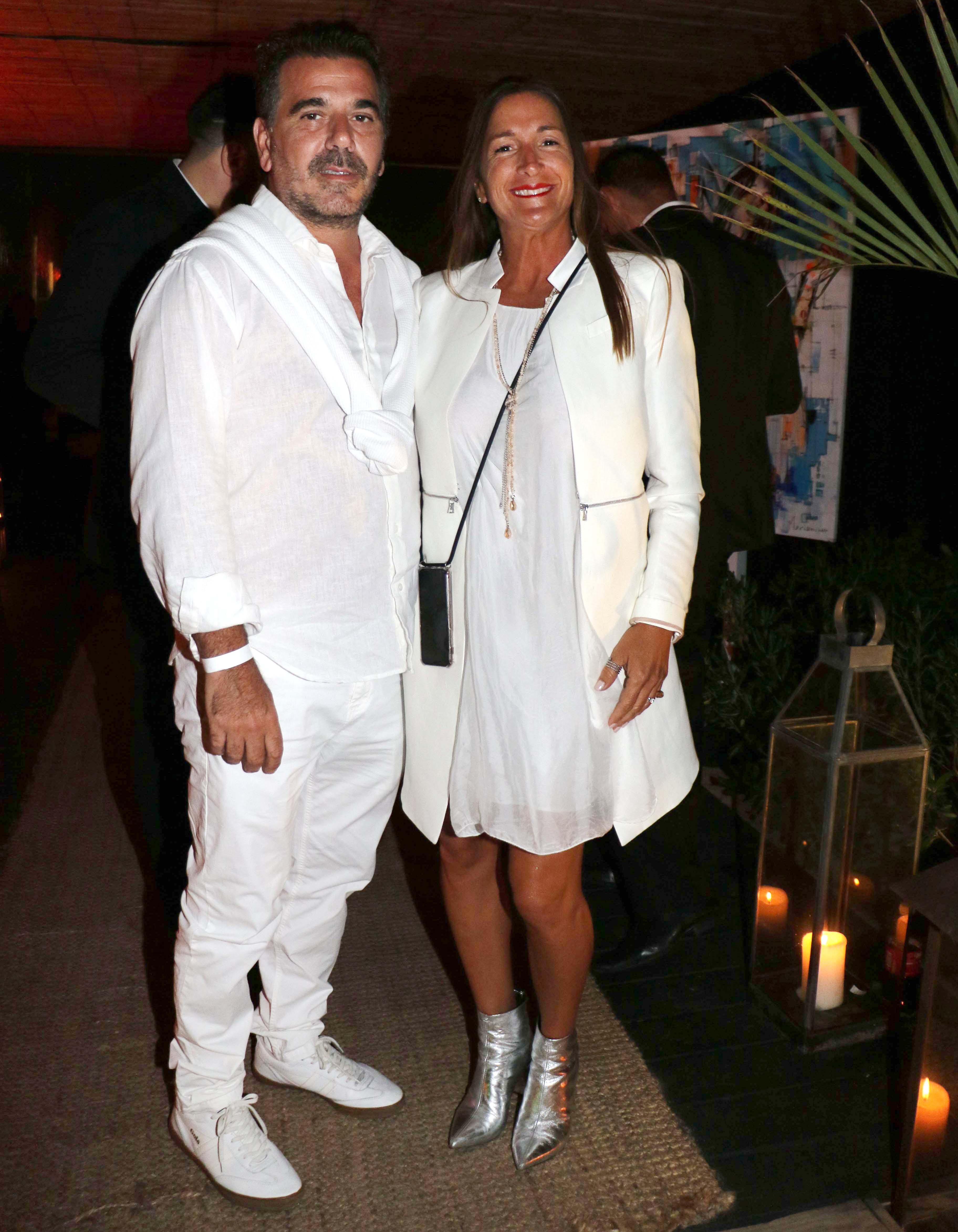 Cristian Ritondo y su mujer
