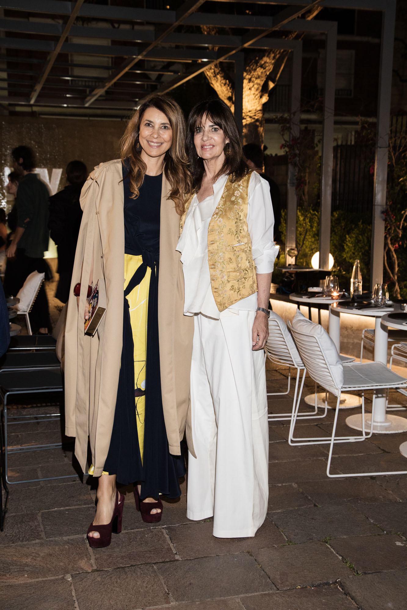 Adriana Batan de Rocca e Isabel Animat