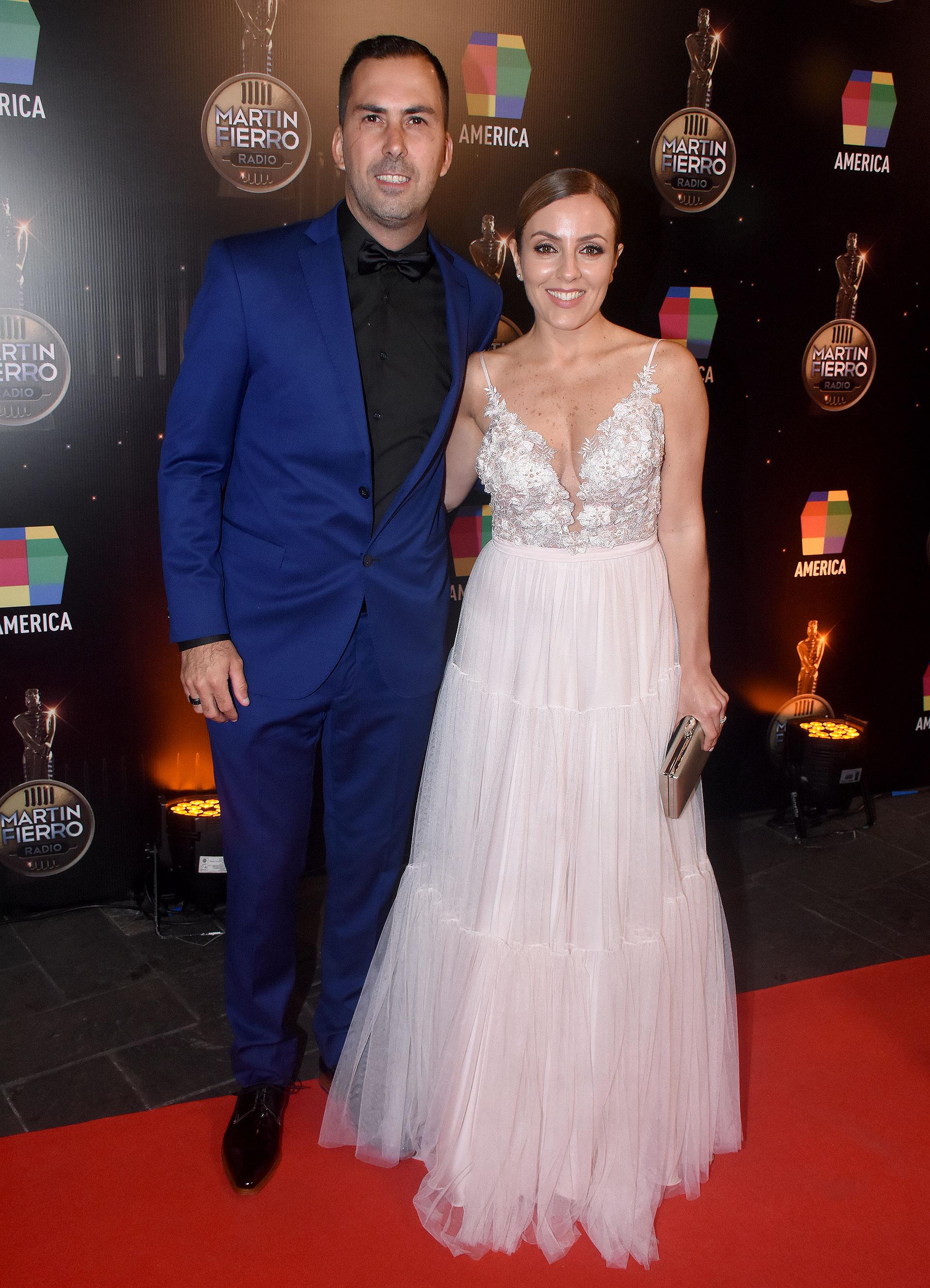 Martín Arevalo y Cora Debarbieri