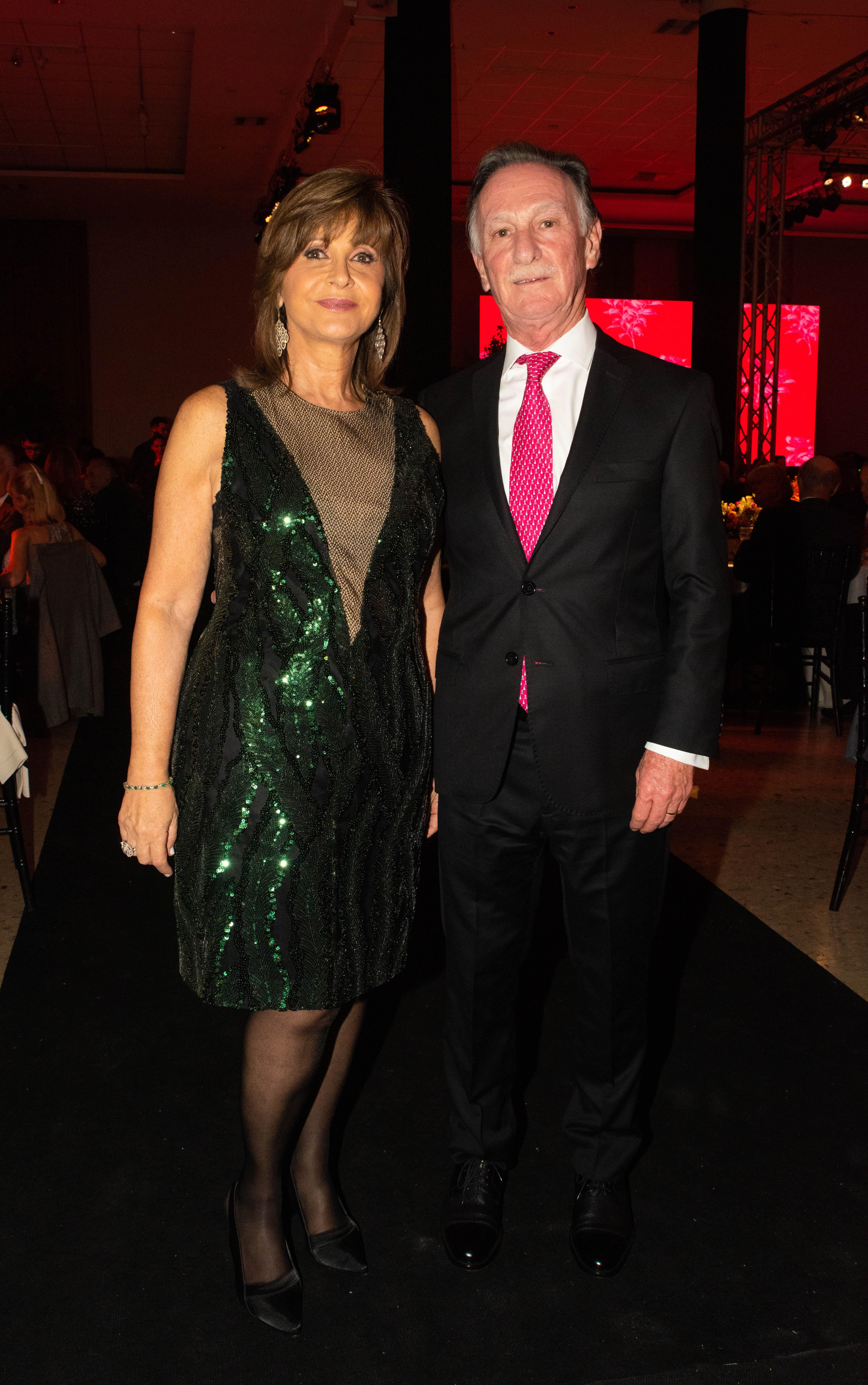 Myriam Levi y Gustavo Weiss