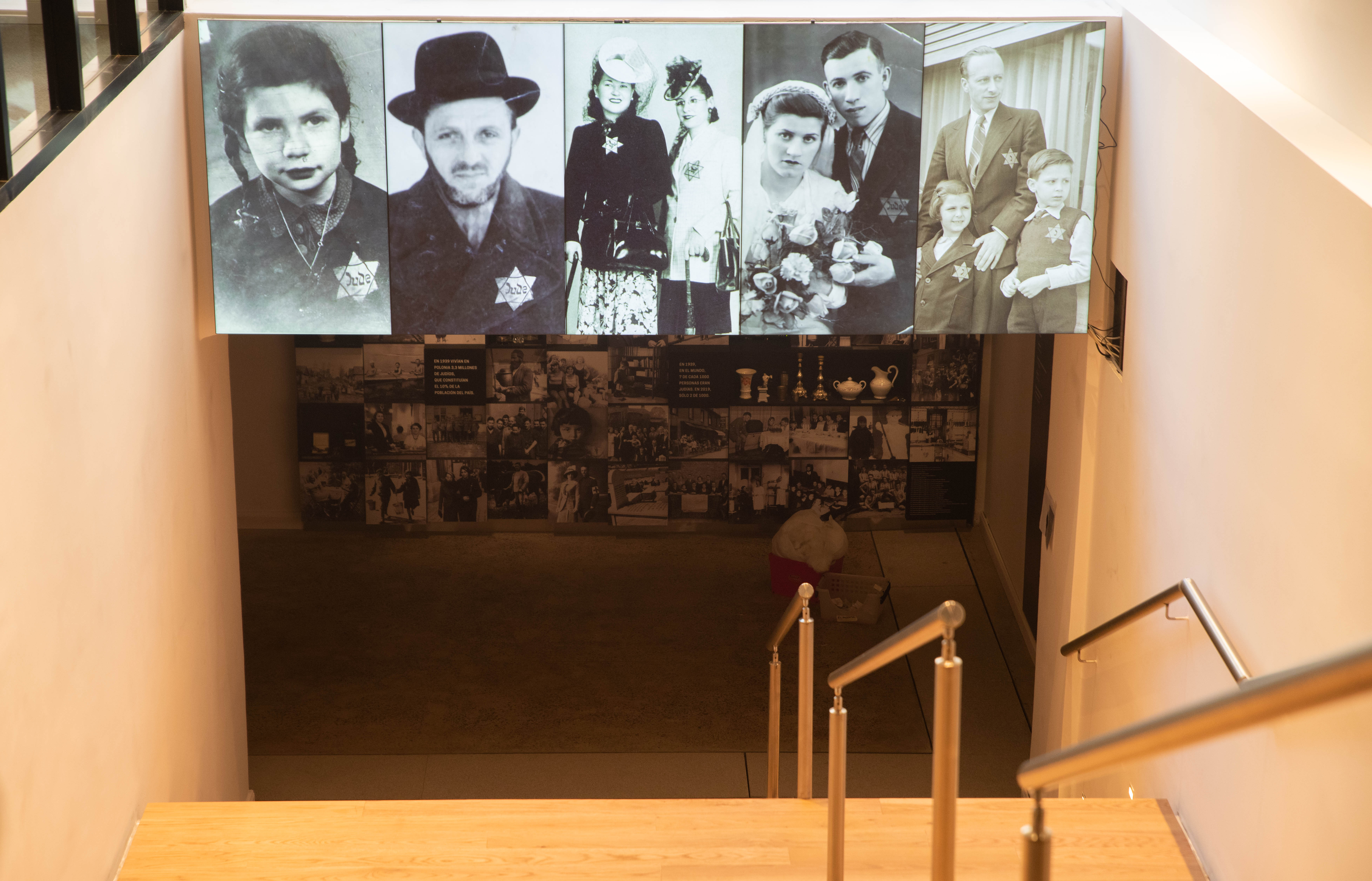 Bruno Garbari, referente de contenidos del Museo, fue el guía en la primera visita concedida a los medios: