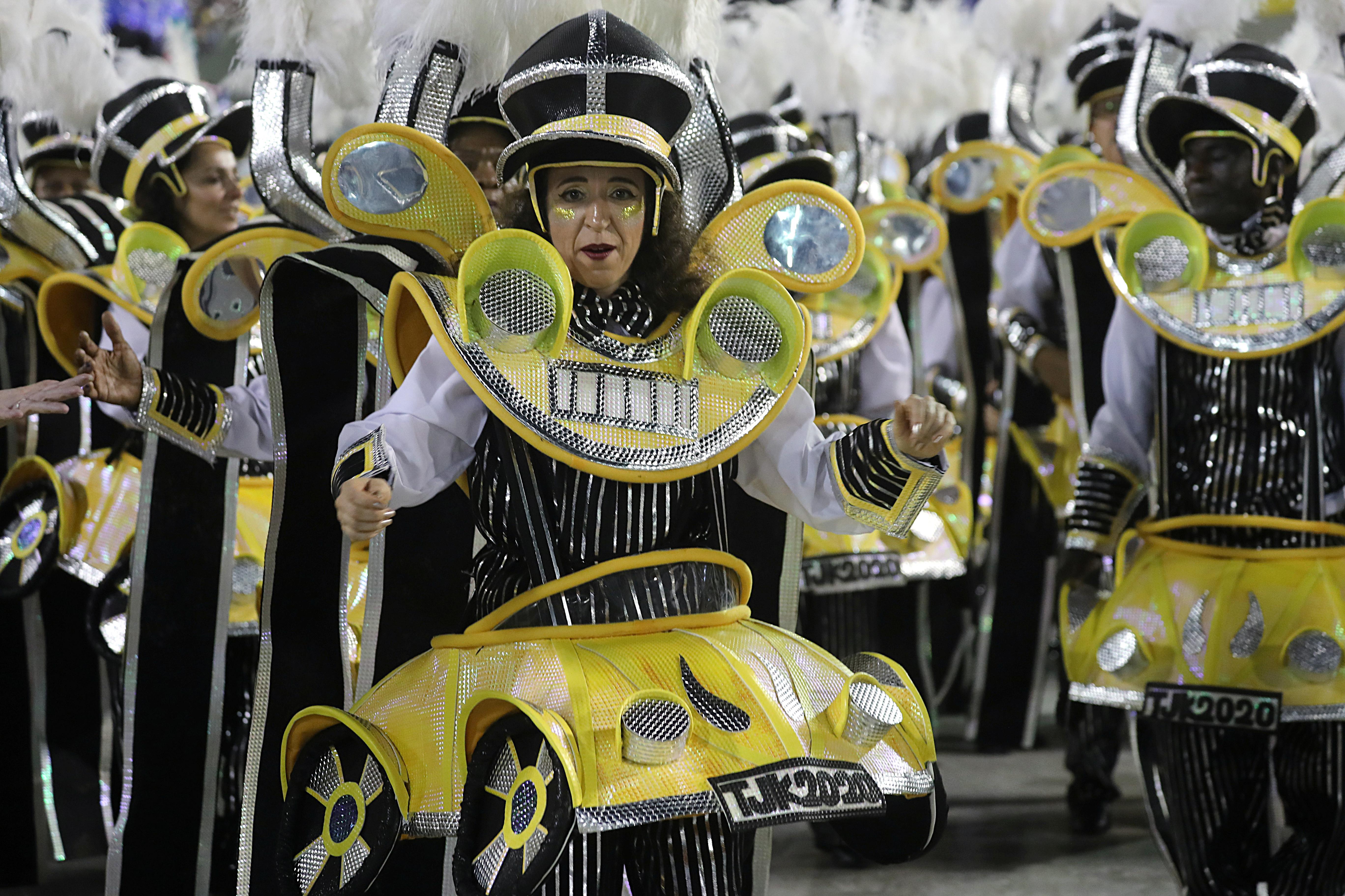 Unidos da Tijuca samba school REUTERS/Sergio Moraes