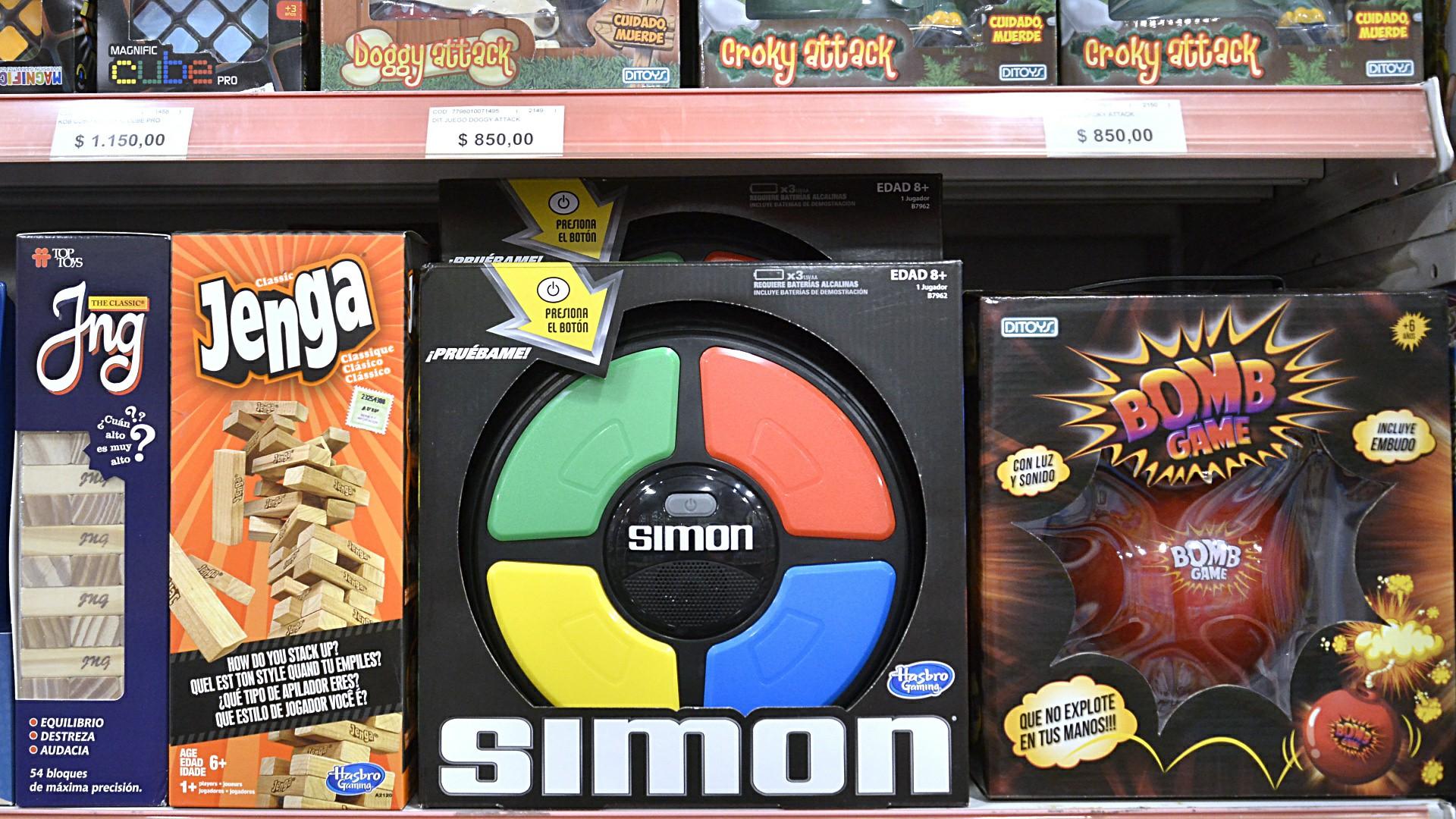 El Jenga y el Simon, juguetes clásicos, que trascienden generaciones