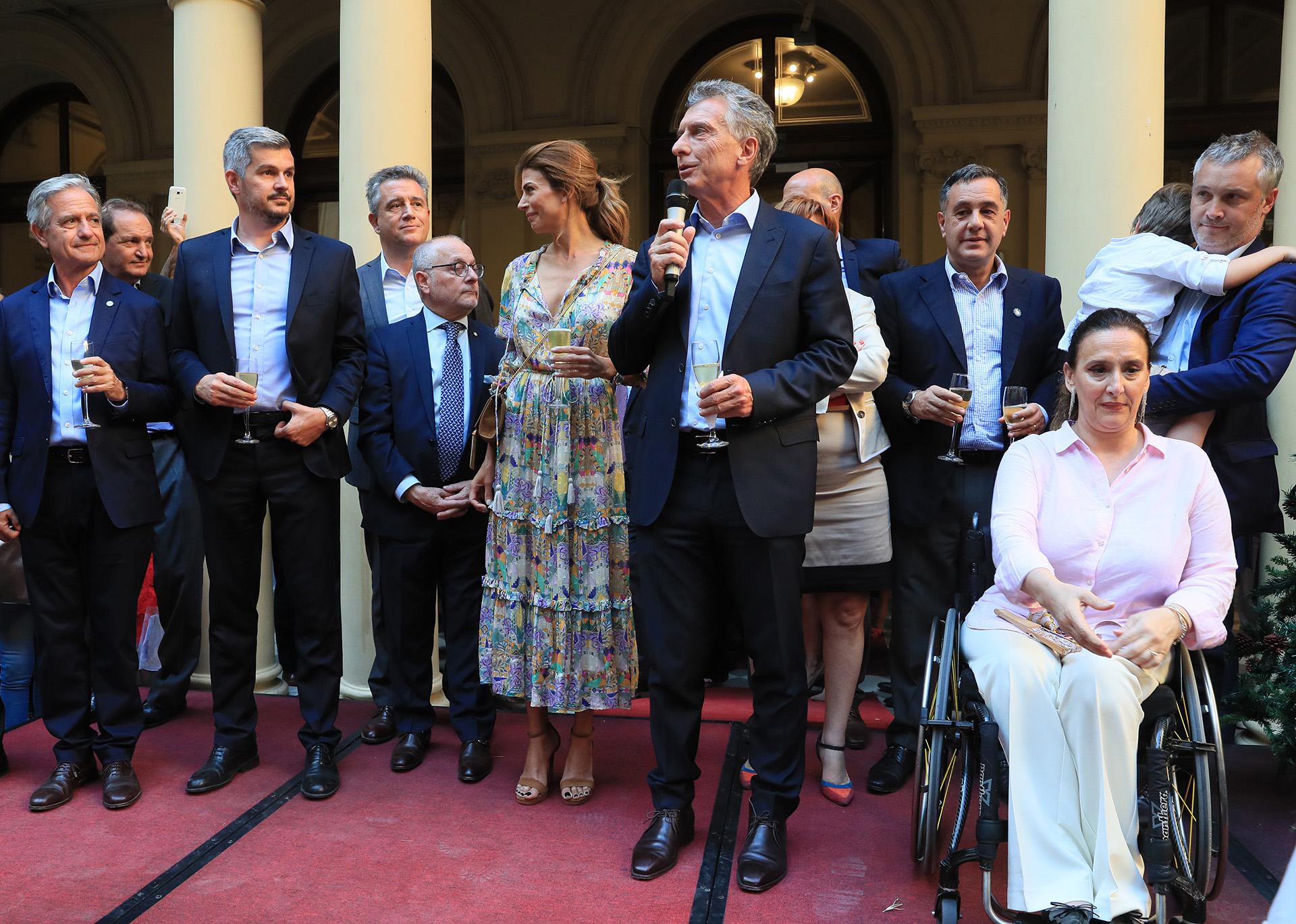 La primera dama, Juliana Awada, reveló que desde el viernes con el presidente Macri ya no duermen en la Quinta de Olivos.