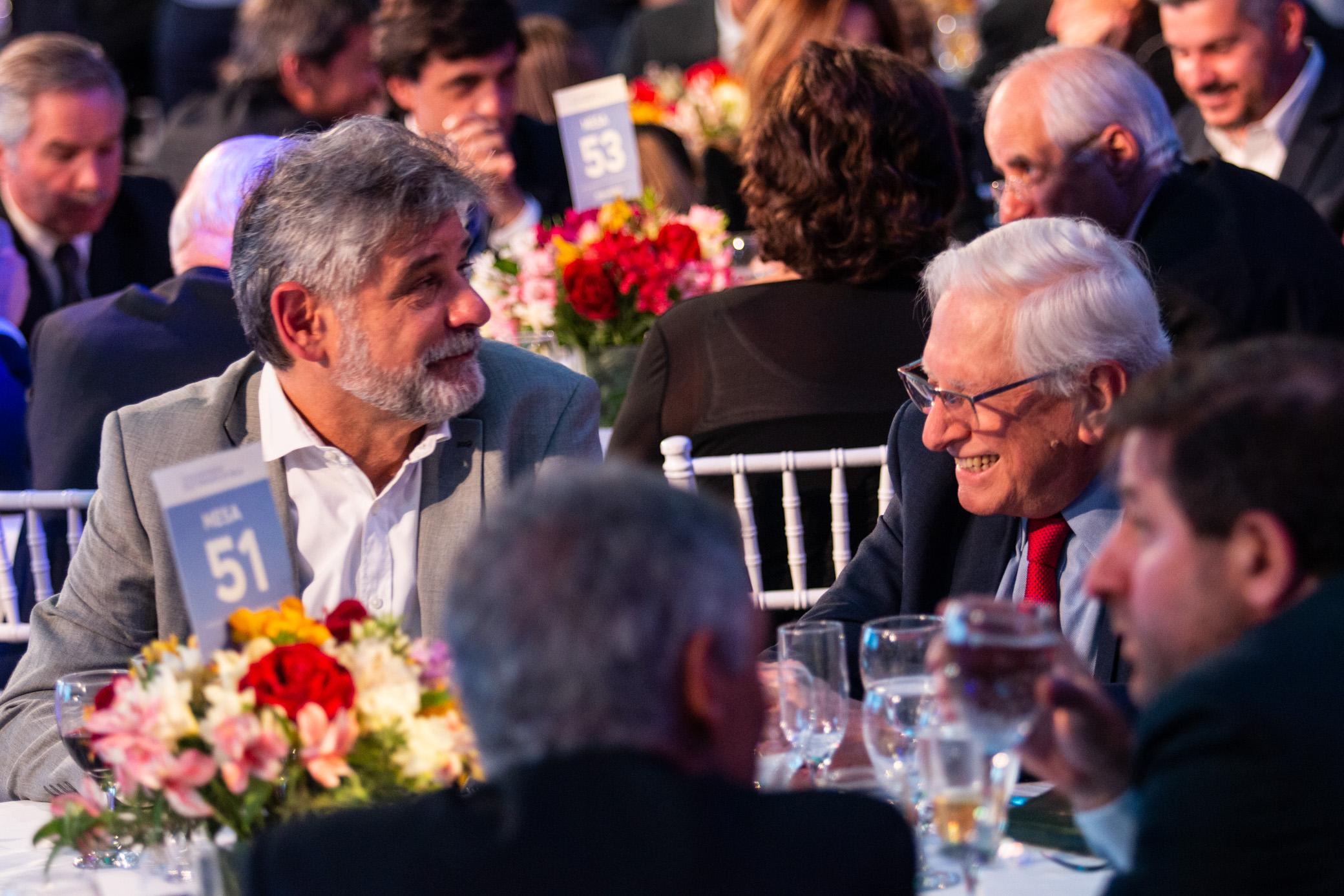 El diputado Daniel Filmus y el director del INDEC, Jorge Todesca