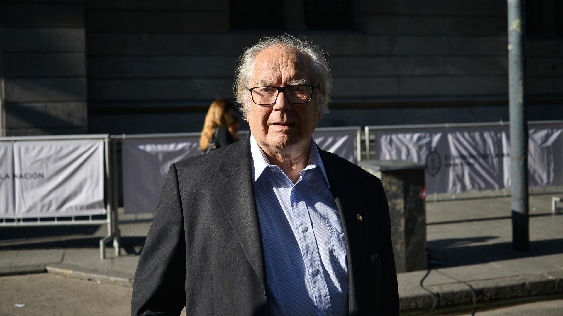 Adolfo Pérez Esquivel, defensor de los derechos humanos y premio Nobel de la Paz en 1980
