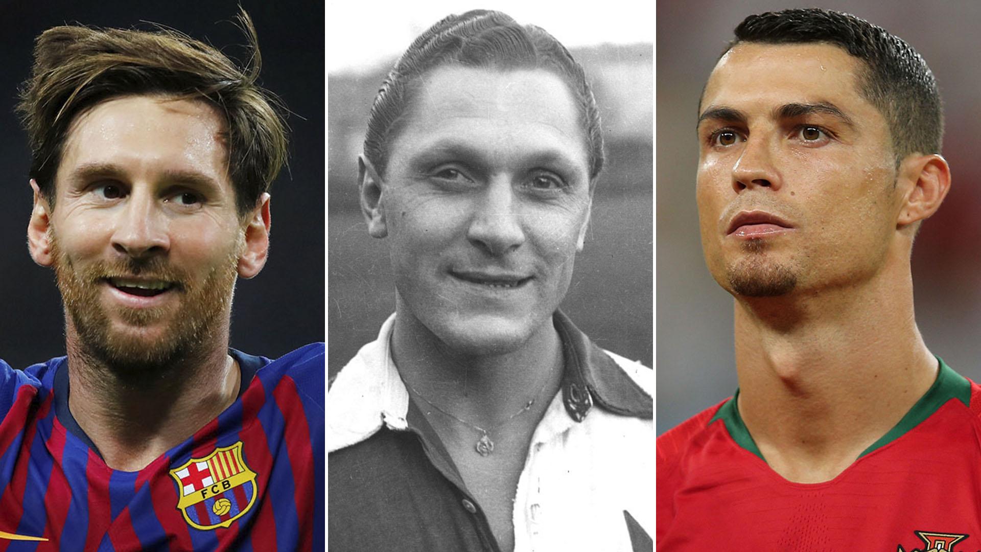 """La historia de Josef Bican, el dueño de la marca """"imposible"""" que Cristiano  Ronaldo y Messi quieren alcanzar - Infobae"""