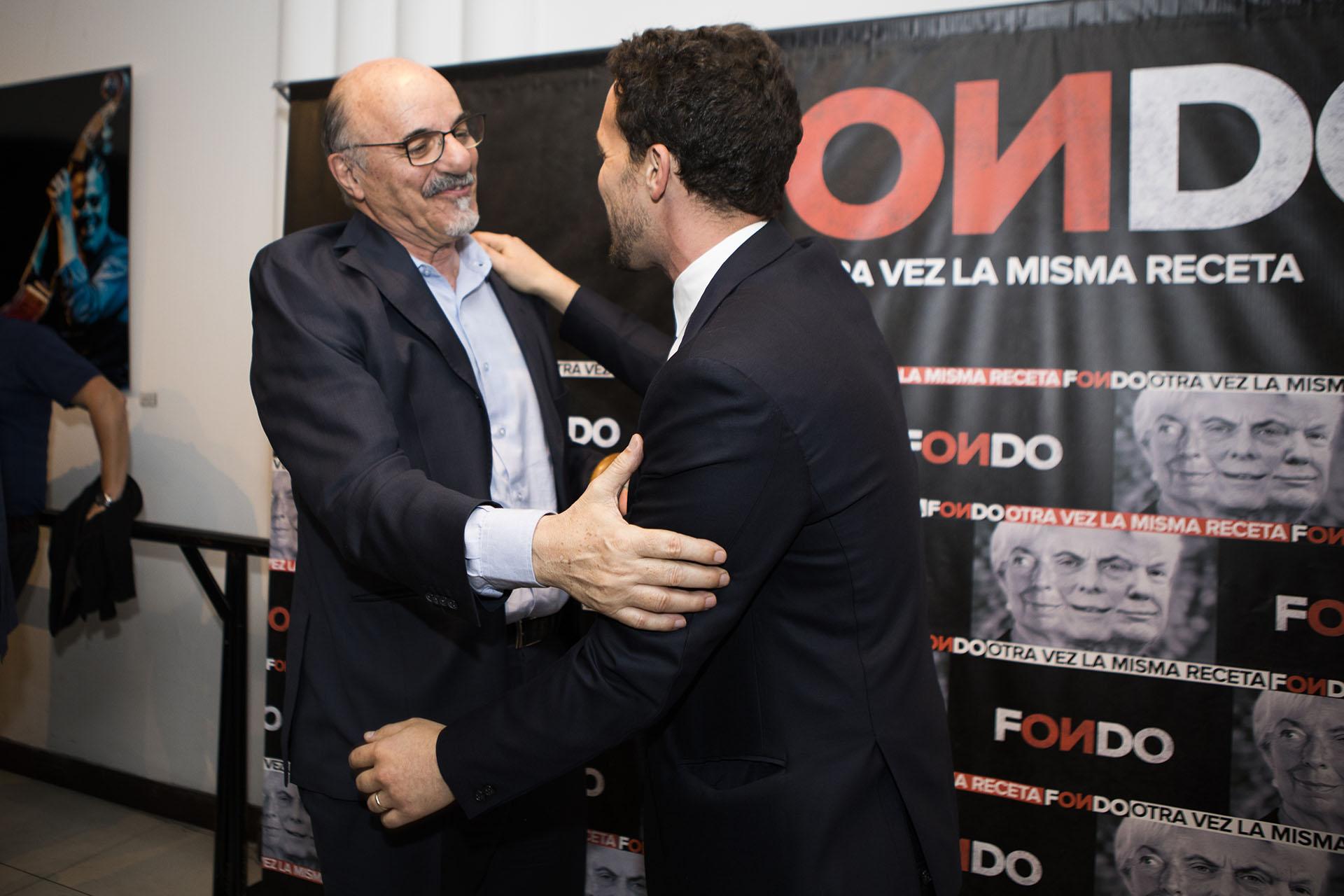 El ex ministro de Trabajo, Carlos Mercado, estuvo en el estreno del documental