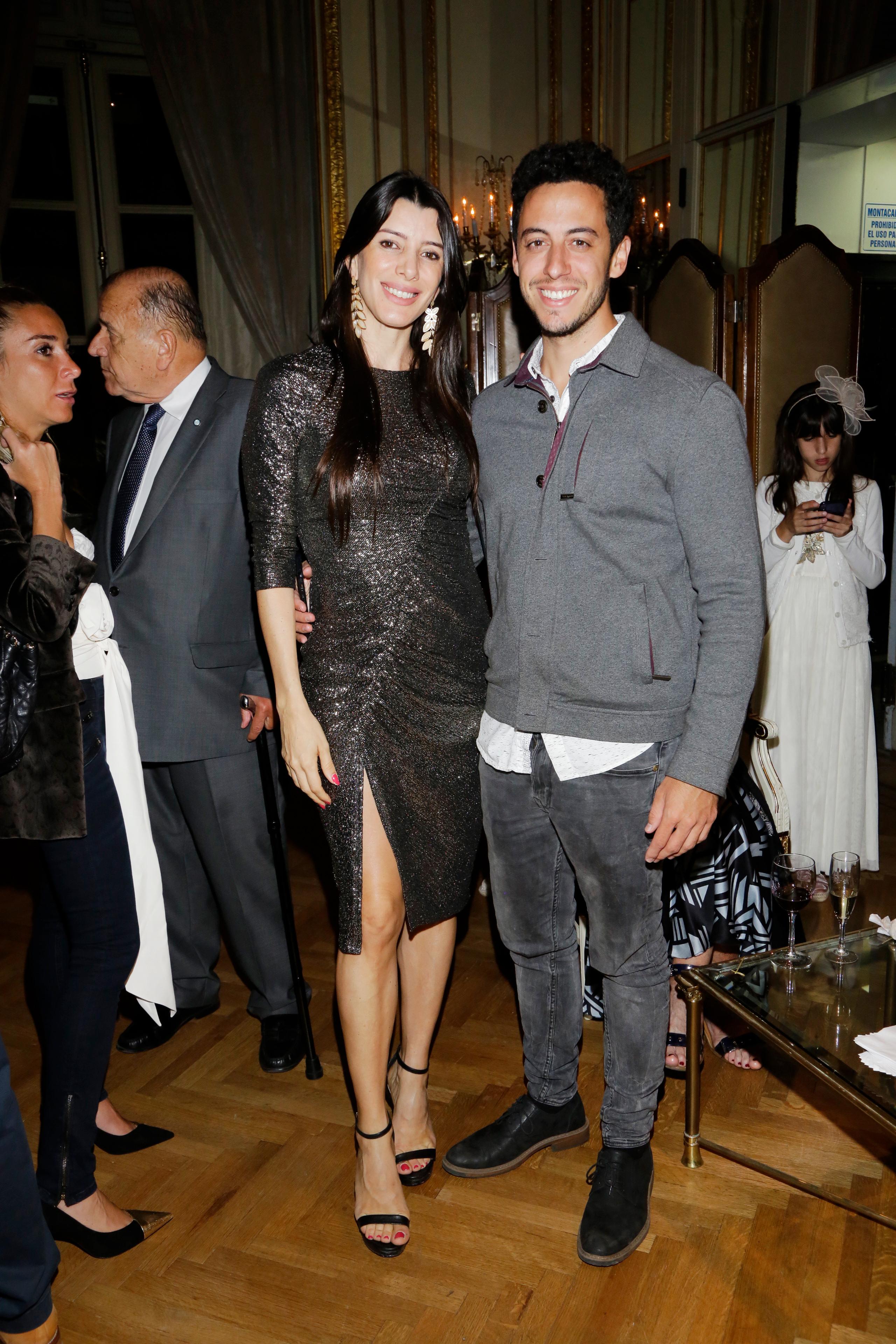 Romina Santiso y André Parisier