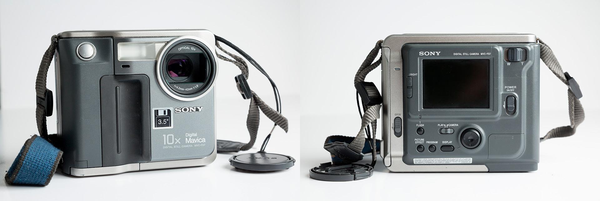 Mavica era una marca de cámaras de Sony que usaba discos extraíbles como medio de grabación. En agosto de 1981, Sony dio a conocer un prototipo de Sony Mavica como la primera cámara fija electrónica del mundo (Shutterstock)