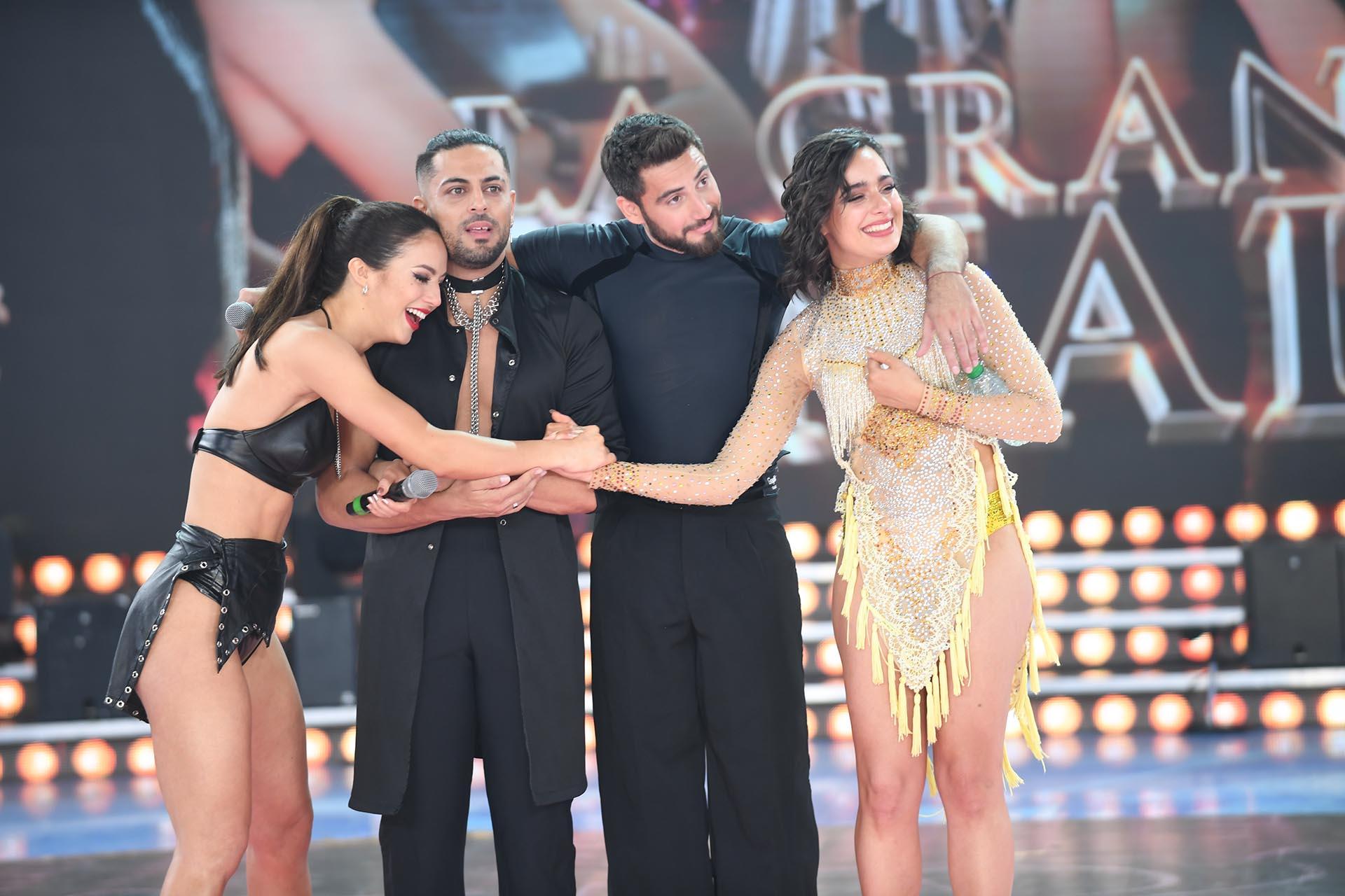 Flor, Facu, Nico y Flor jazmín (Foto: Negro Luengo / LaFlia)